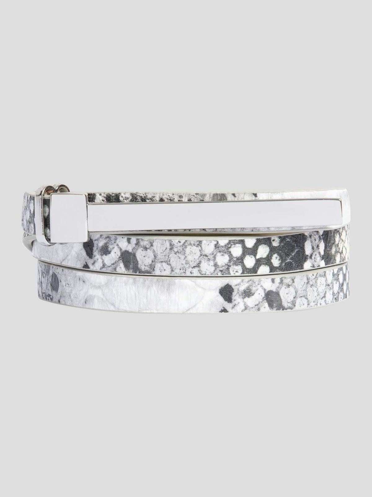 Ремінь сріблястого кольору   4722667   фото 5