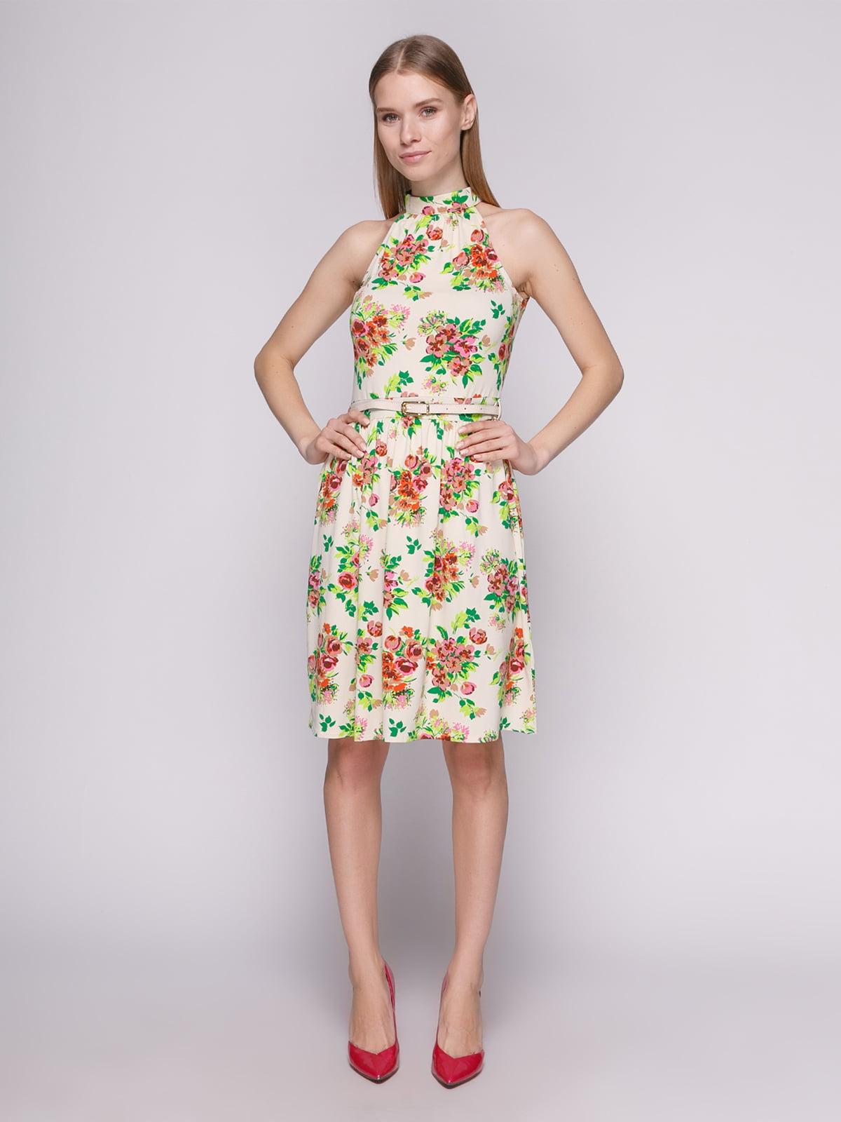 Сукня молочного кольору | 402708