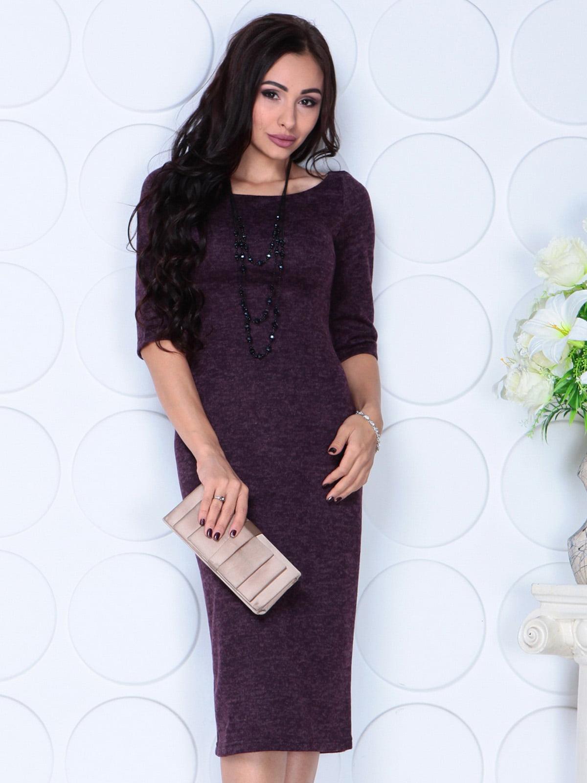 Сукня кольору марсала | 4783430