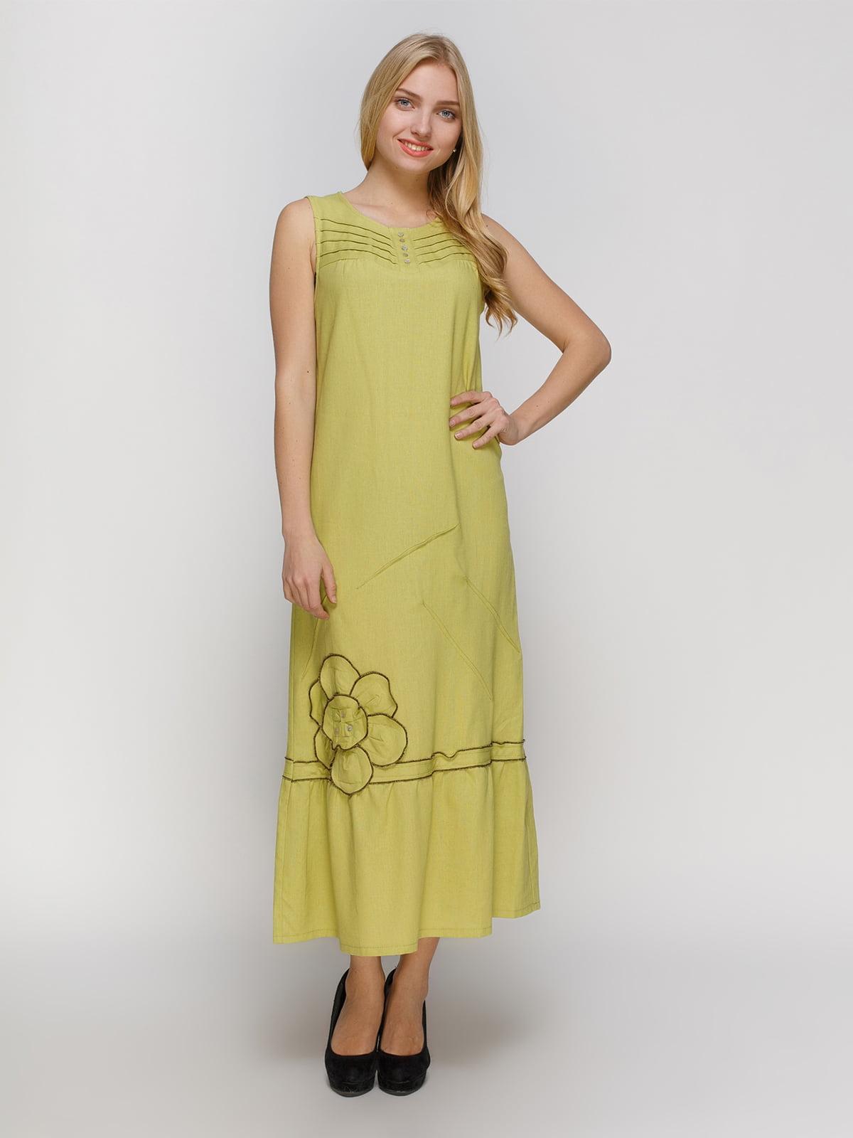 Сукня гірчичного кольору | 4810129