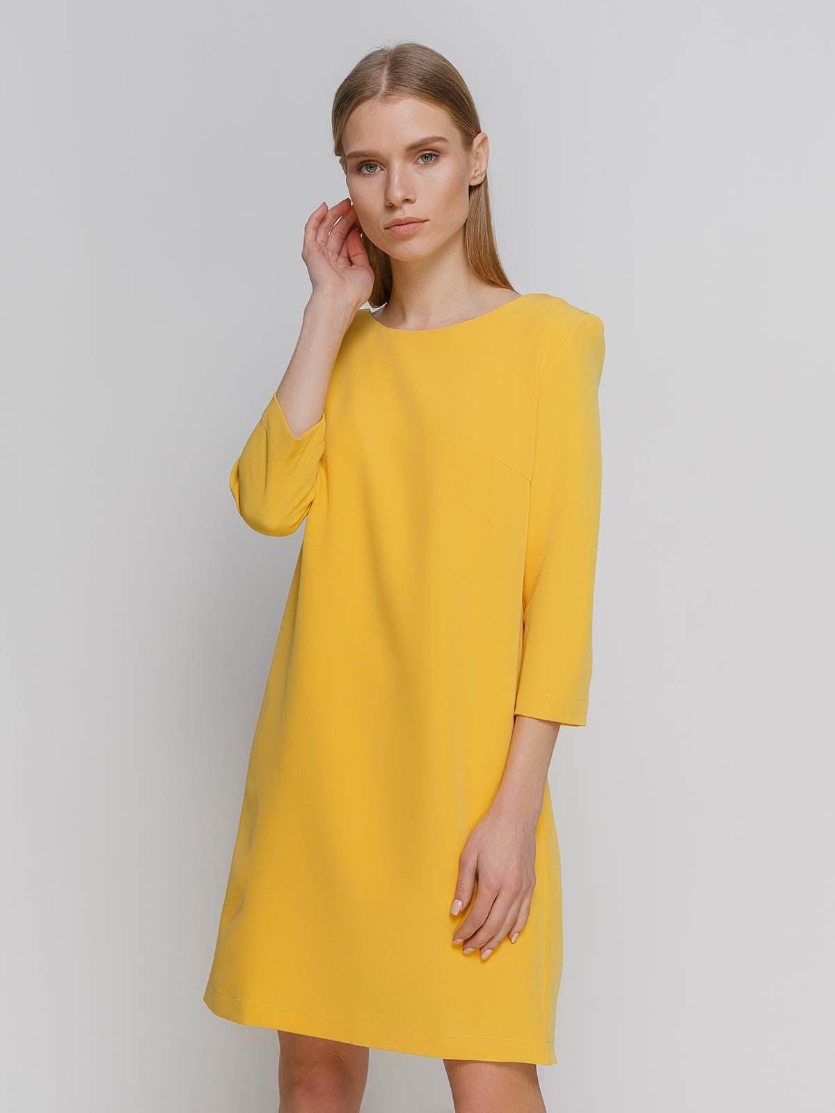 Платье желтое   4695408