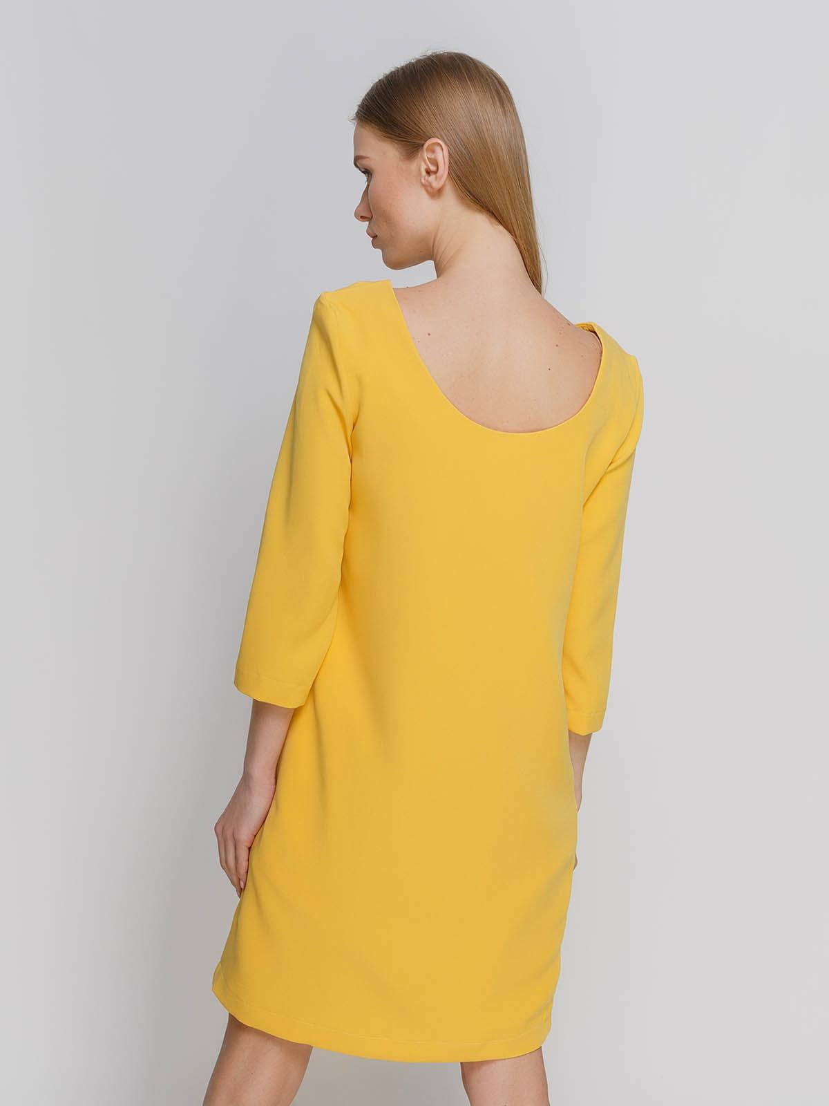 Платье желтое   4695408   фото 2