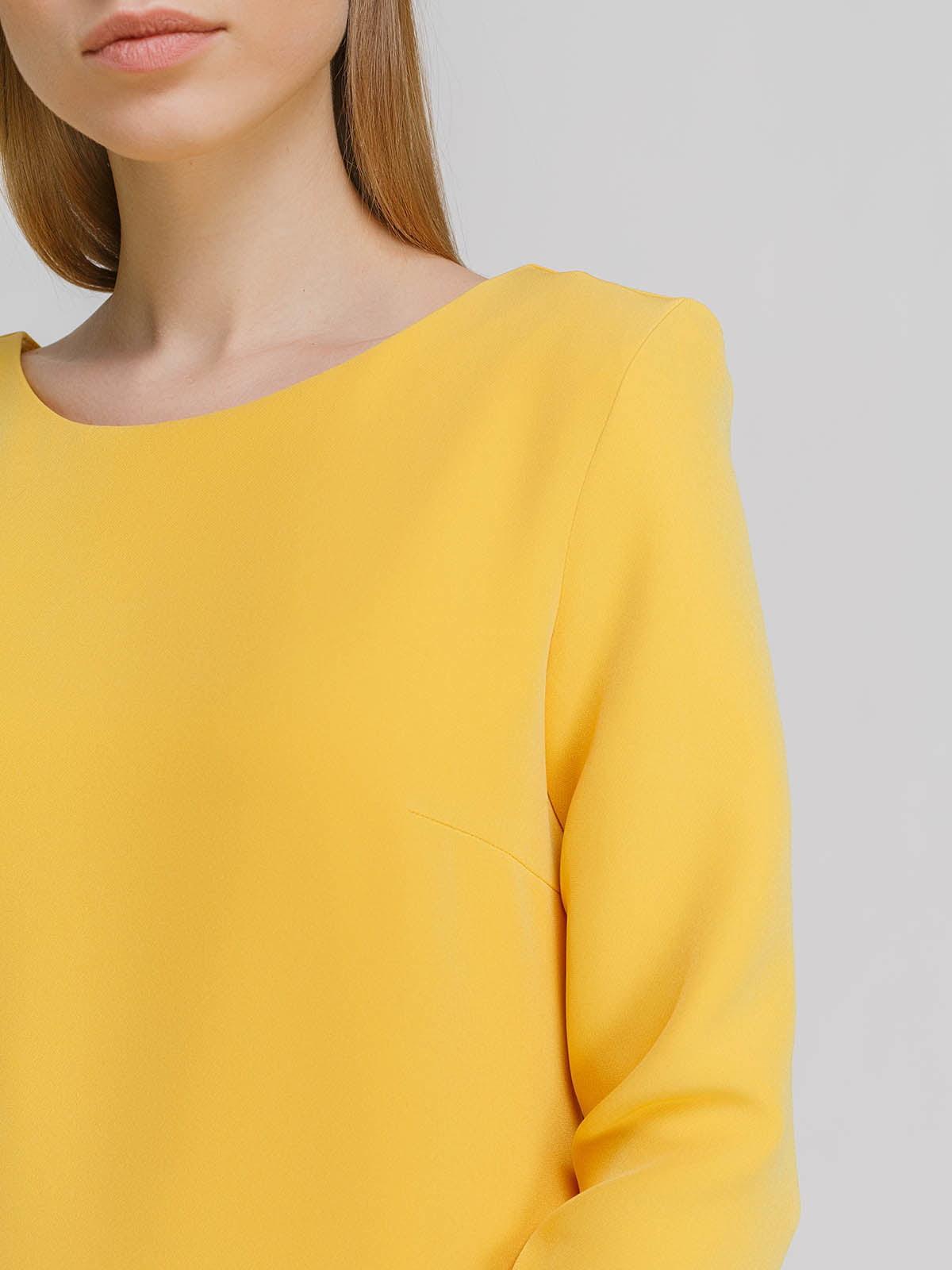 Платье желтое   4695408   фото 3