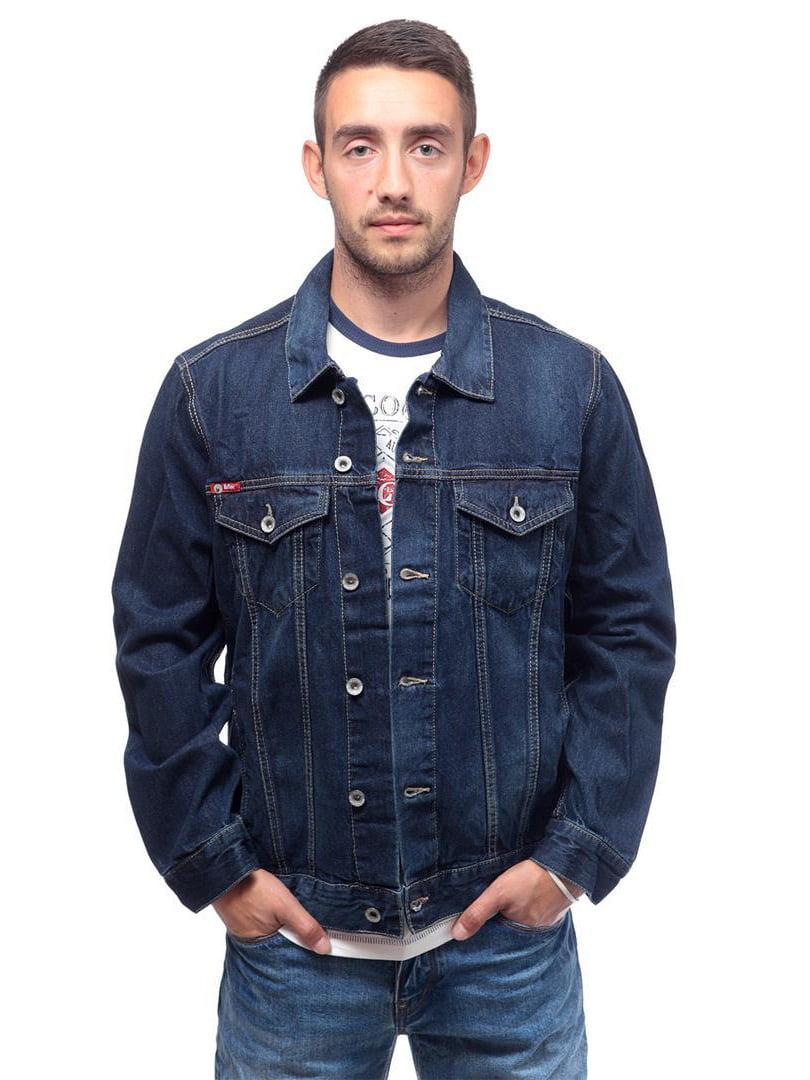 Куртка синяя джинсовая | 4654367