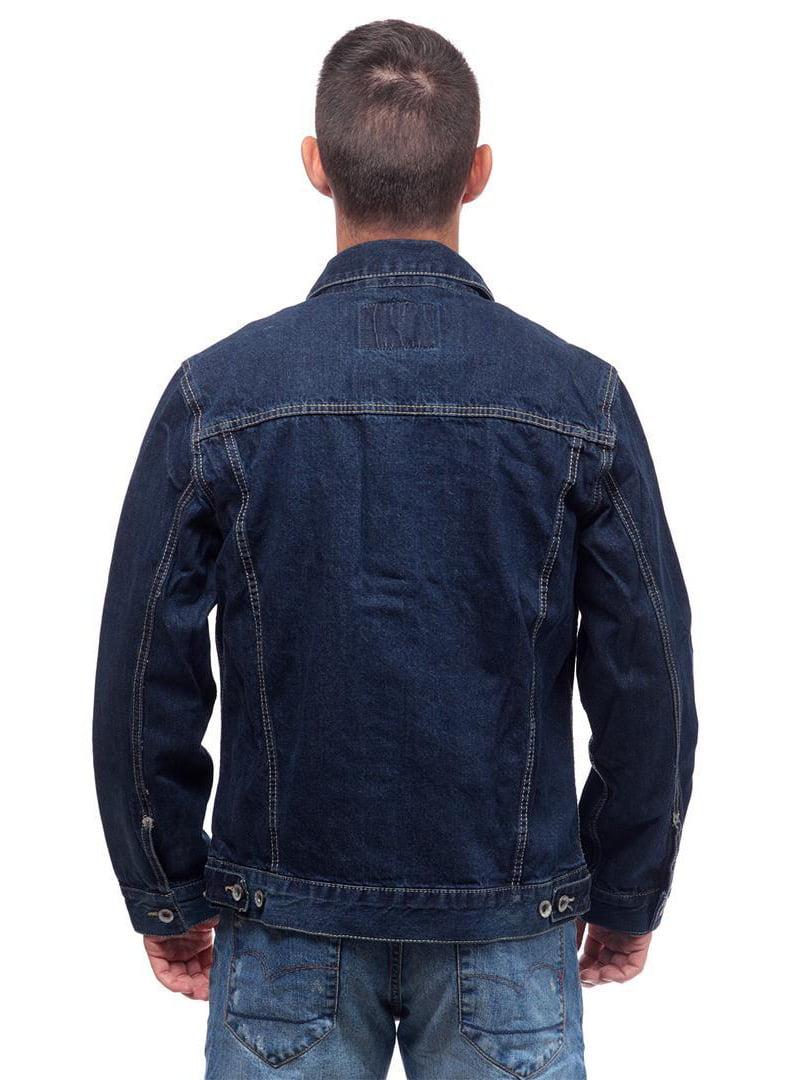 Куртка синяя джинсовая | 4654367 | фото 2