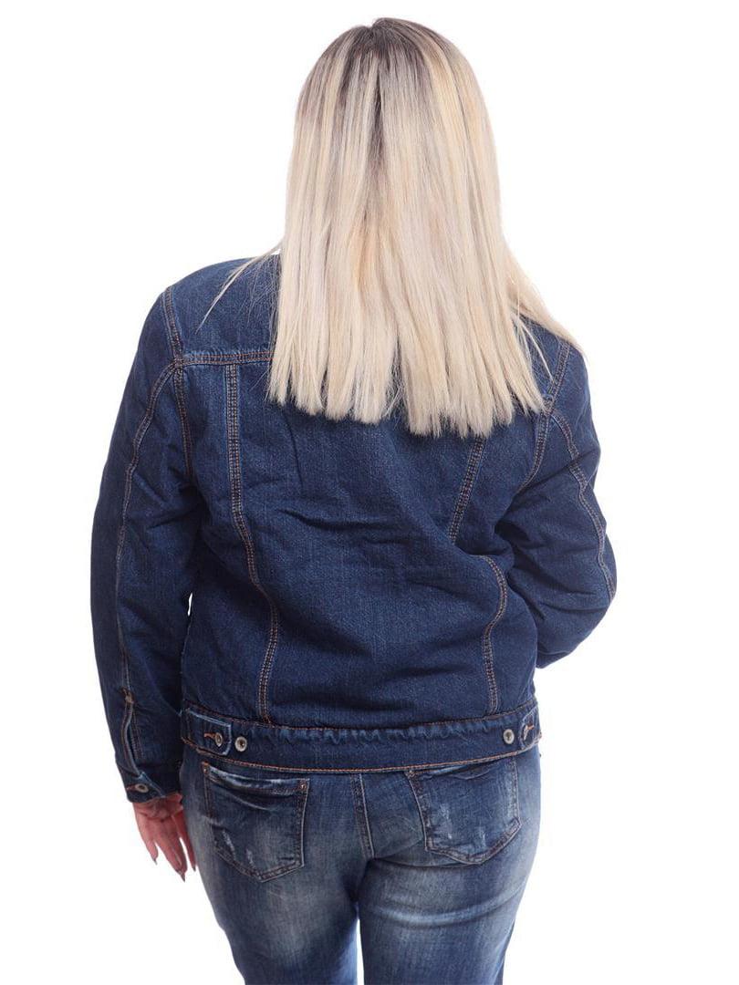 Куртка синя | 4708769 | фото 2