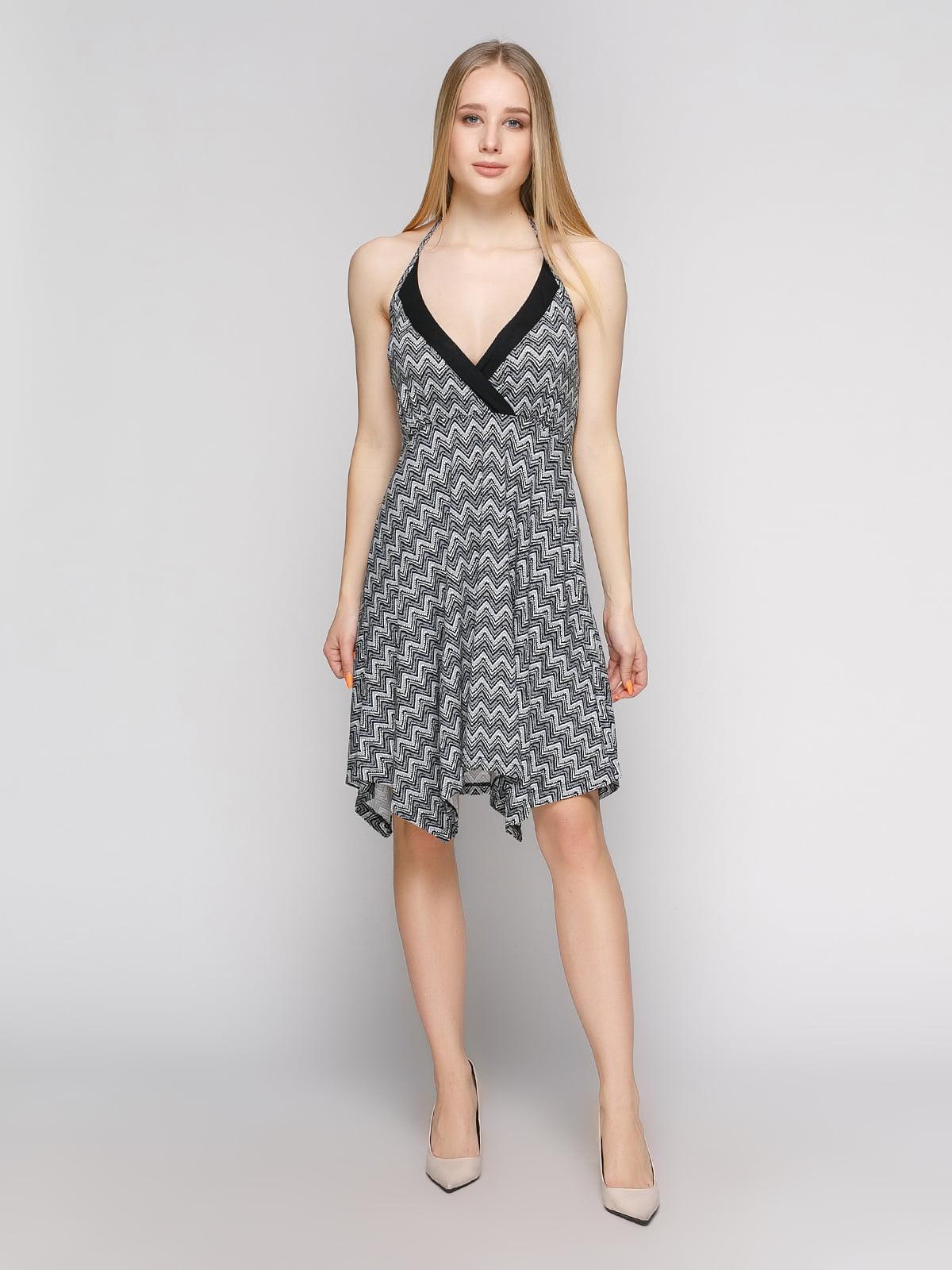 Сукня в зигзагоподібну смужку | 434152