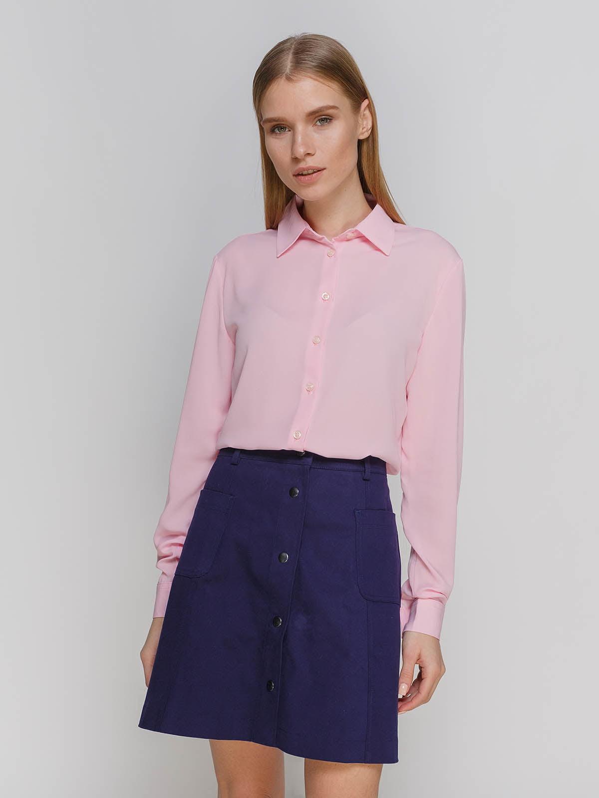 Рубашка розовая   4695434