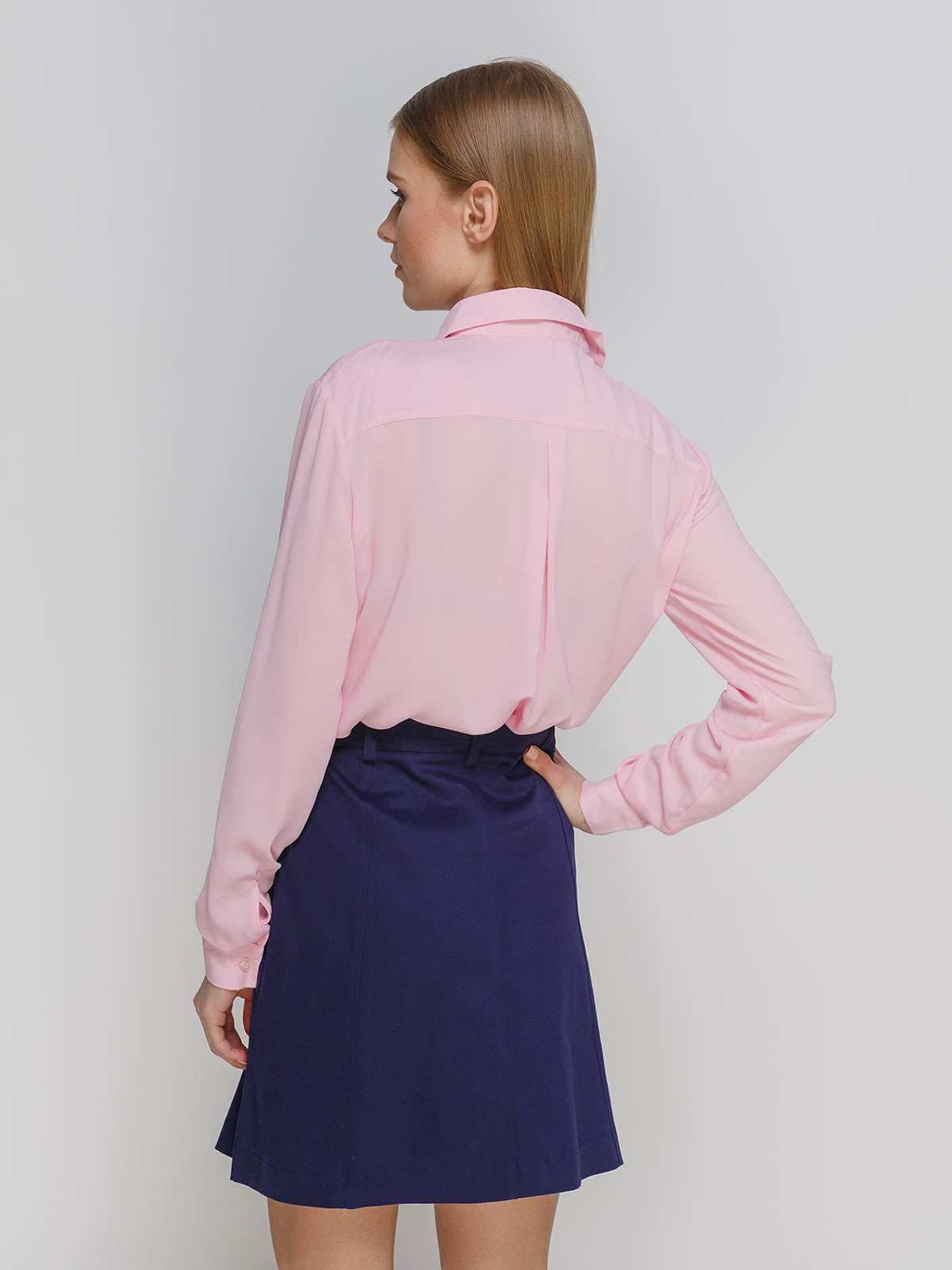 Рубашка розовая   4695434   фото 2