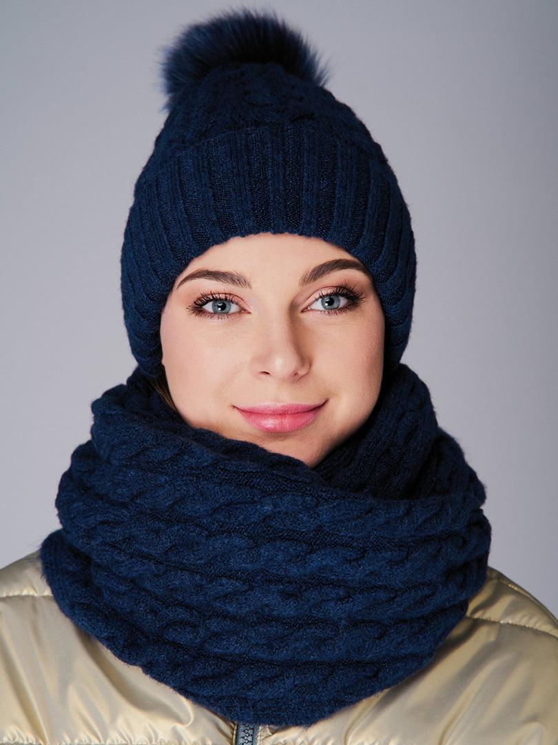 Комплект: шапка и снуд   4813104