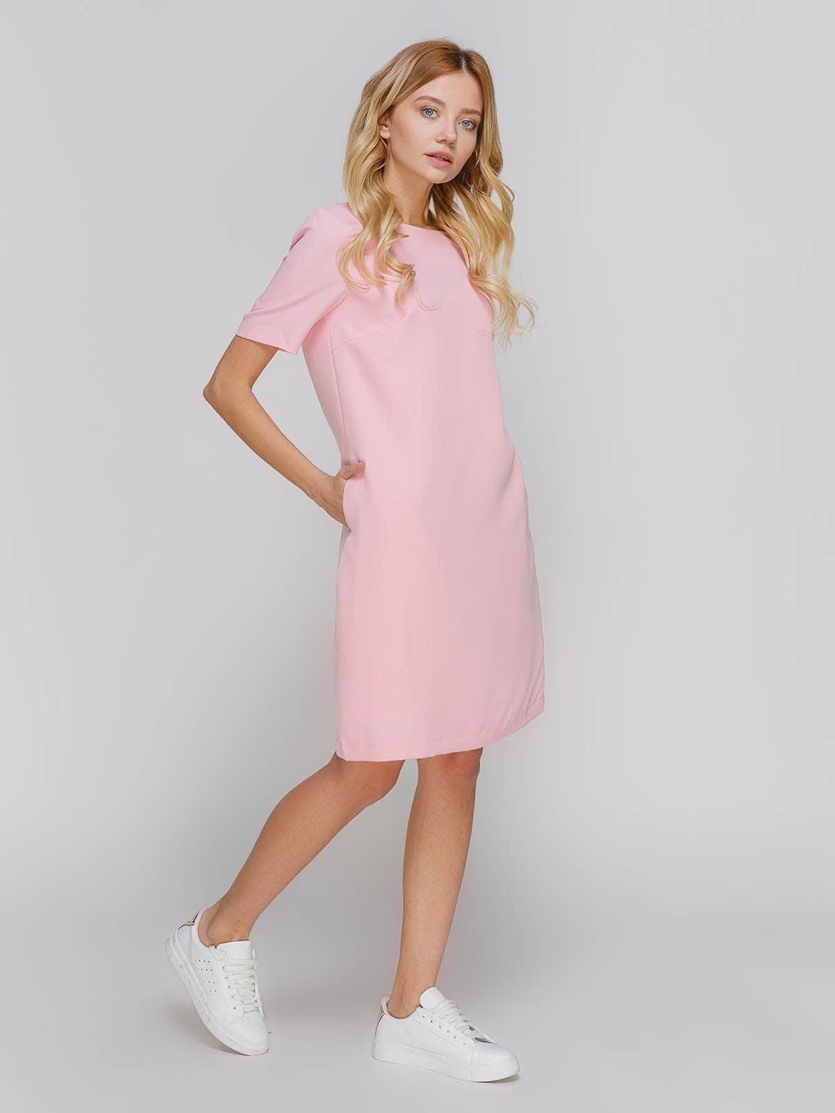 Платье розовое | 4695405