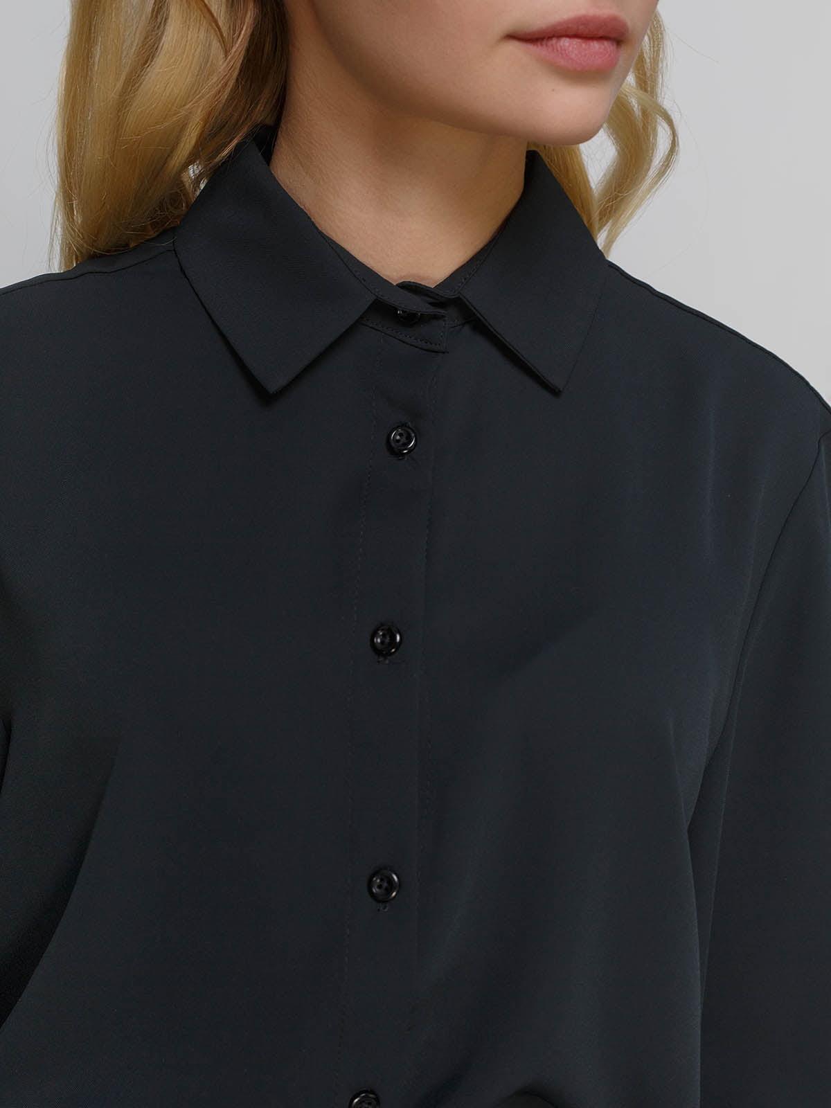 Рубашка черная | 4695390 | фото 3