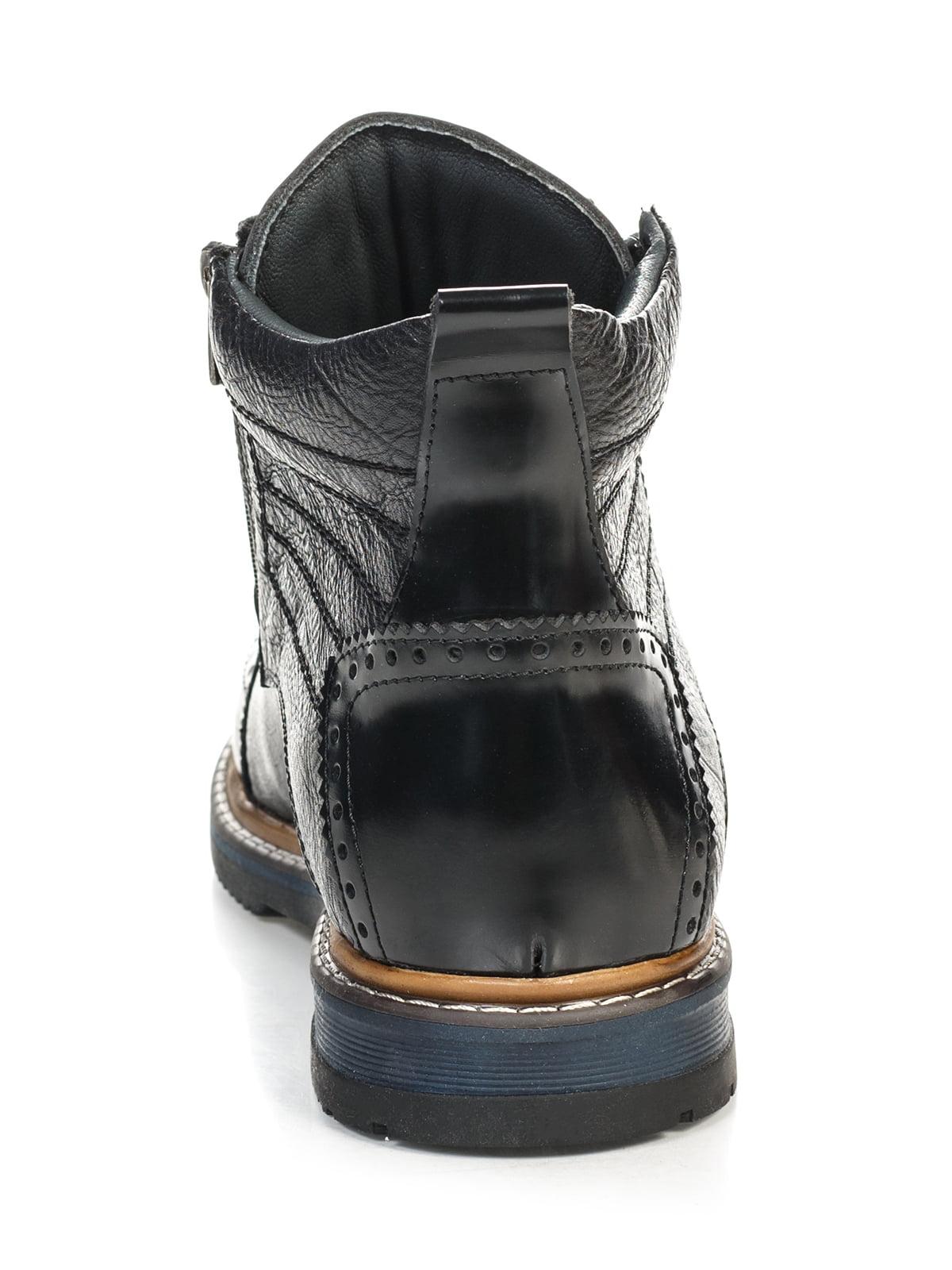 Ботинки черные | 4800146 | фото 4