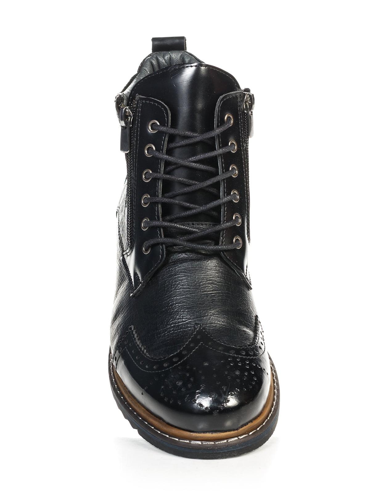 Ботинки черные | 4800146 | фото 5