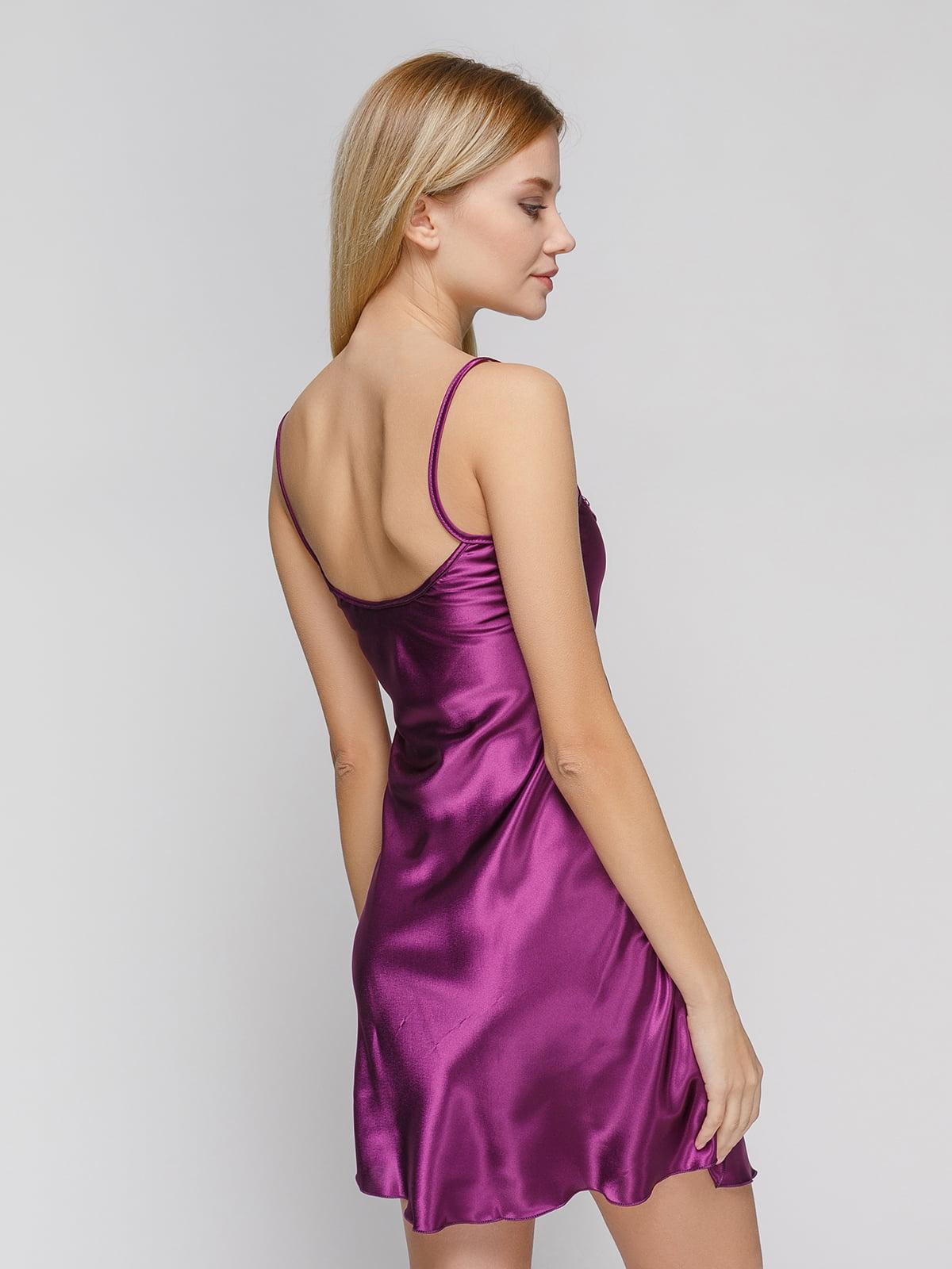 Рубашка ночная фиолетовая | 3505212 | фото 2