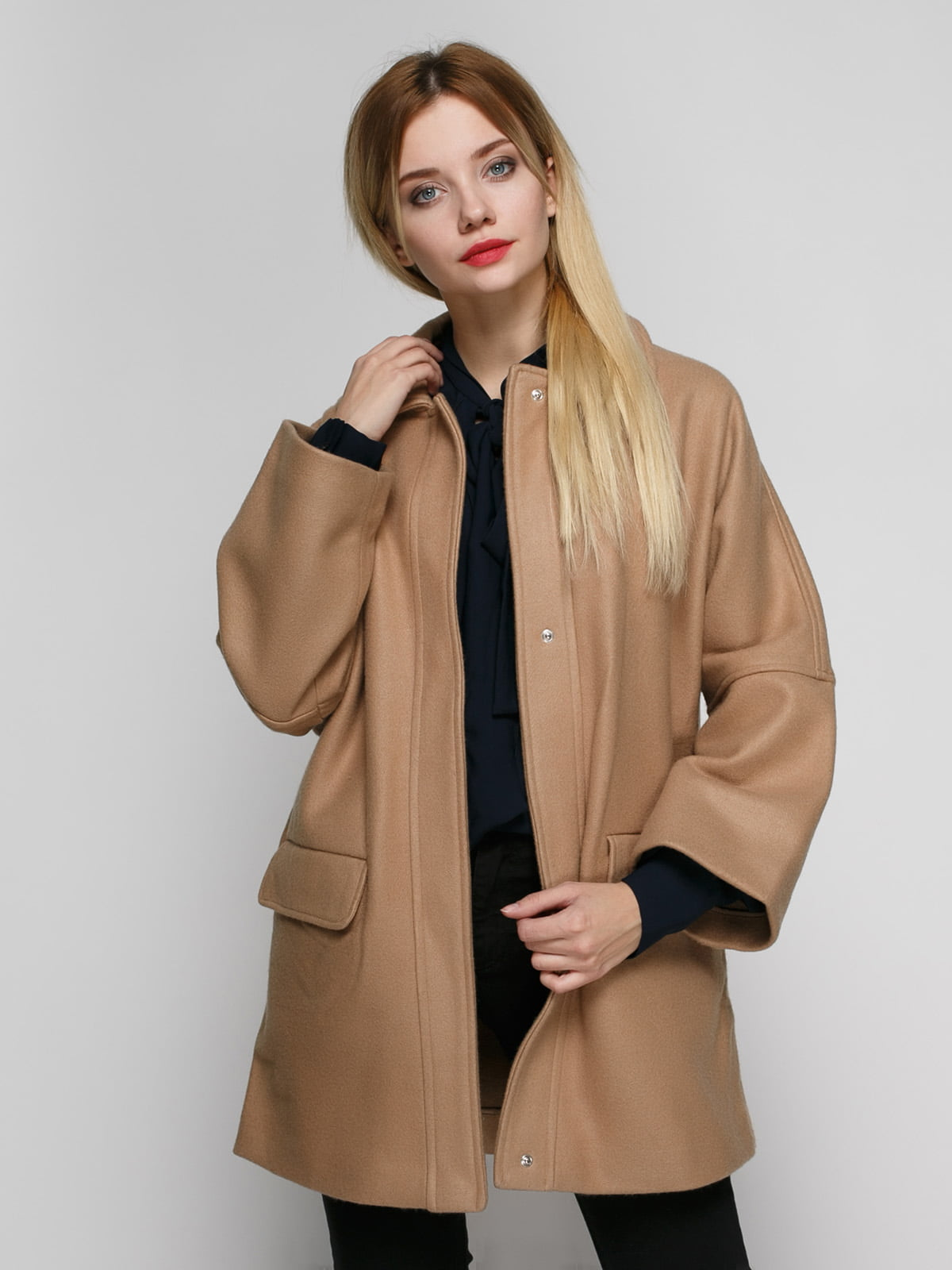 Пальто бежевое | 2687496