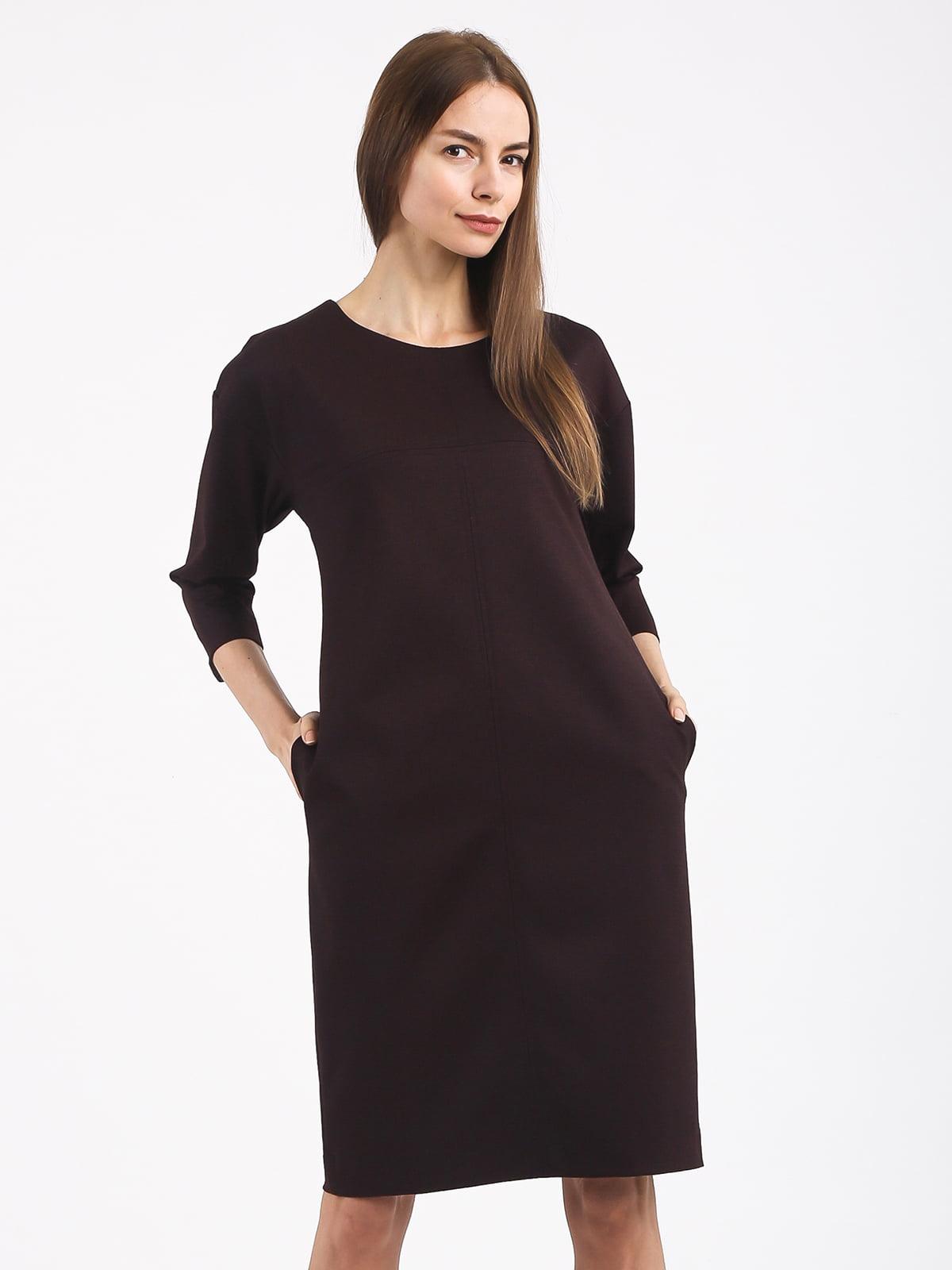 Платье коричневое | 4817078