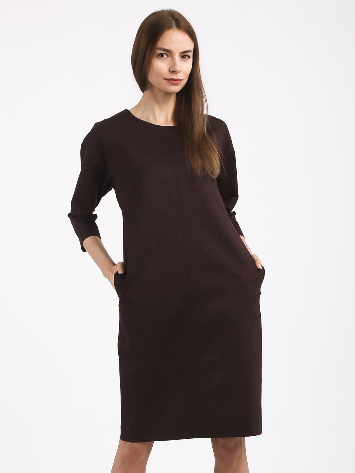 Платье коричневое | 4817079
