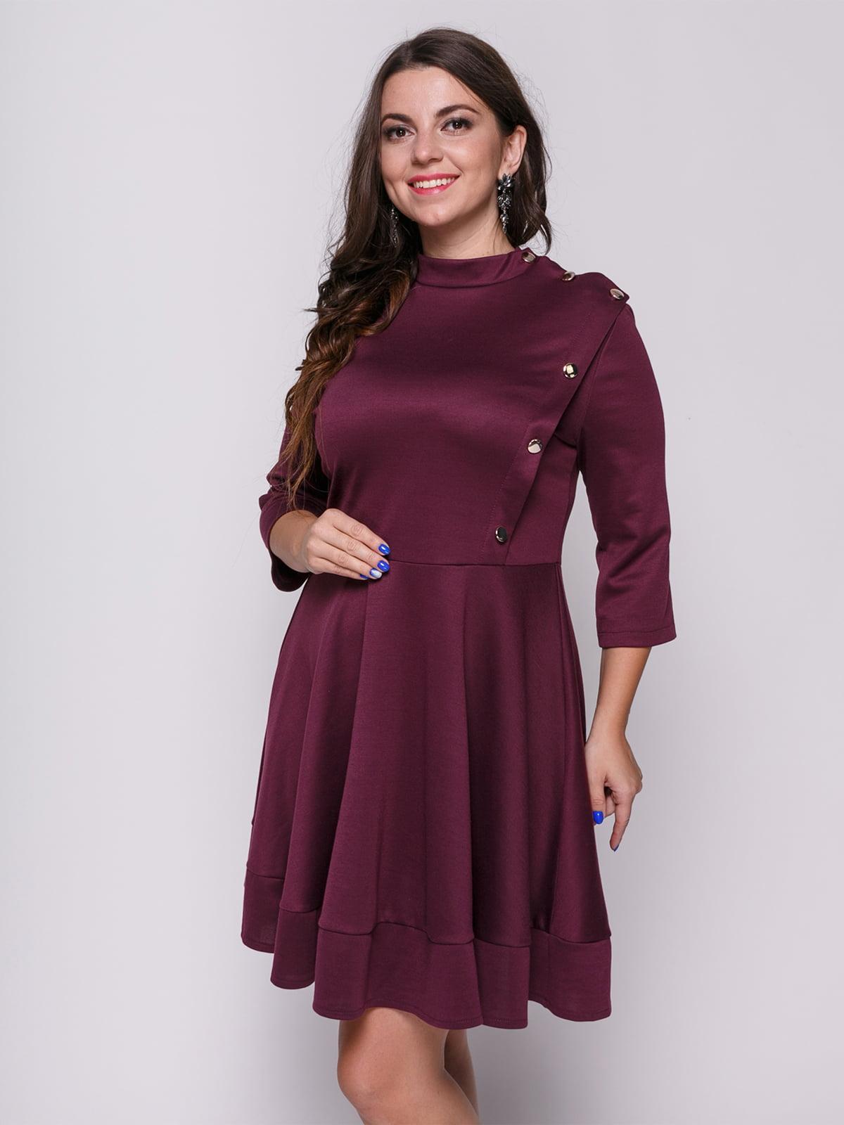 Сукня кольору марсала | 4695831