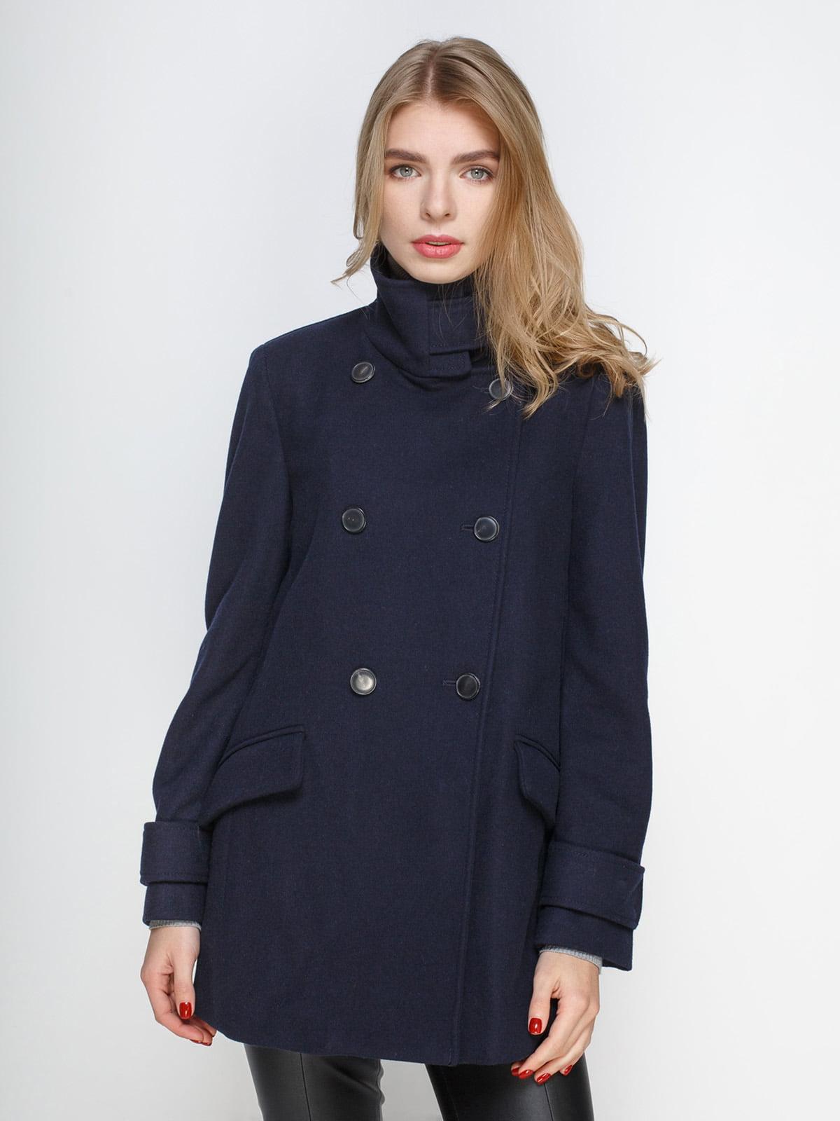 Пальто синее | 4790549