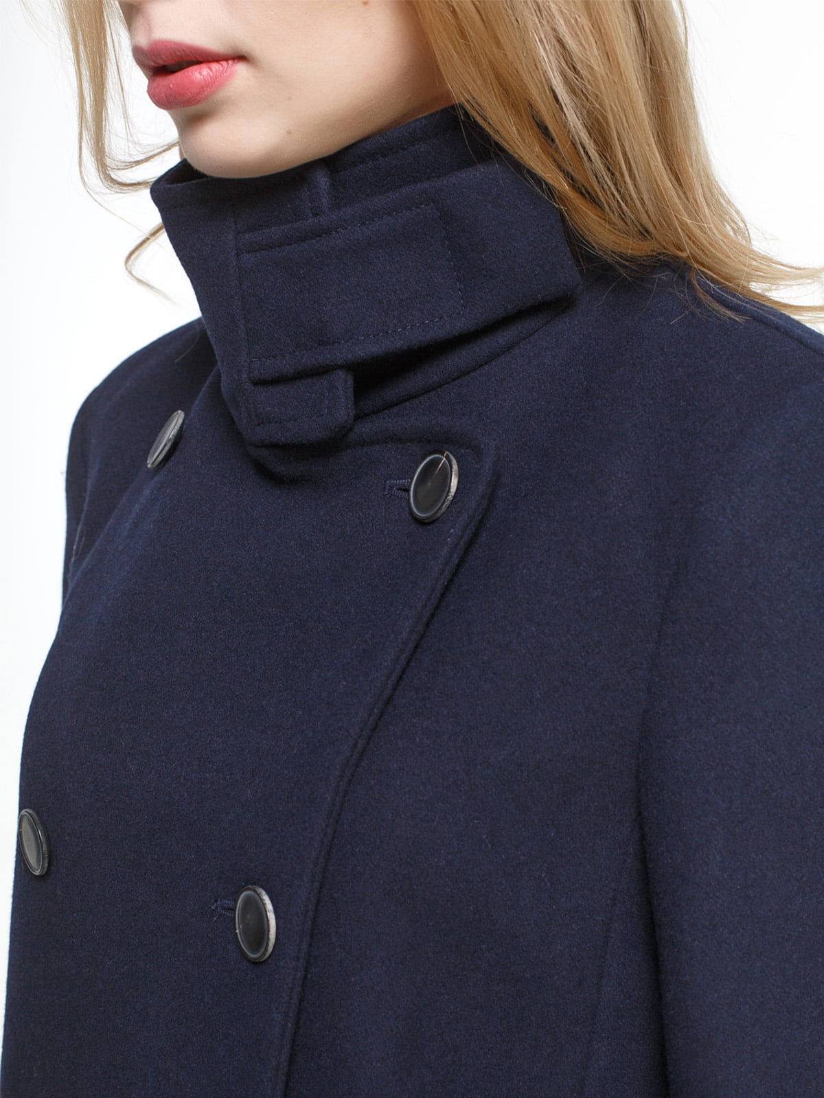 Пальто синее | 4790549 | фото 4