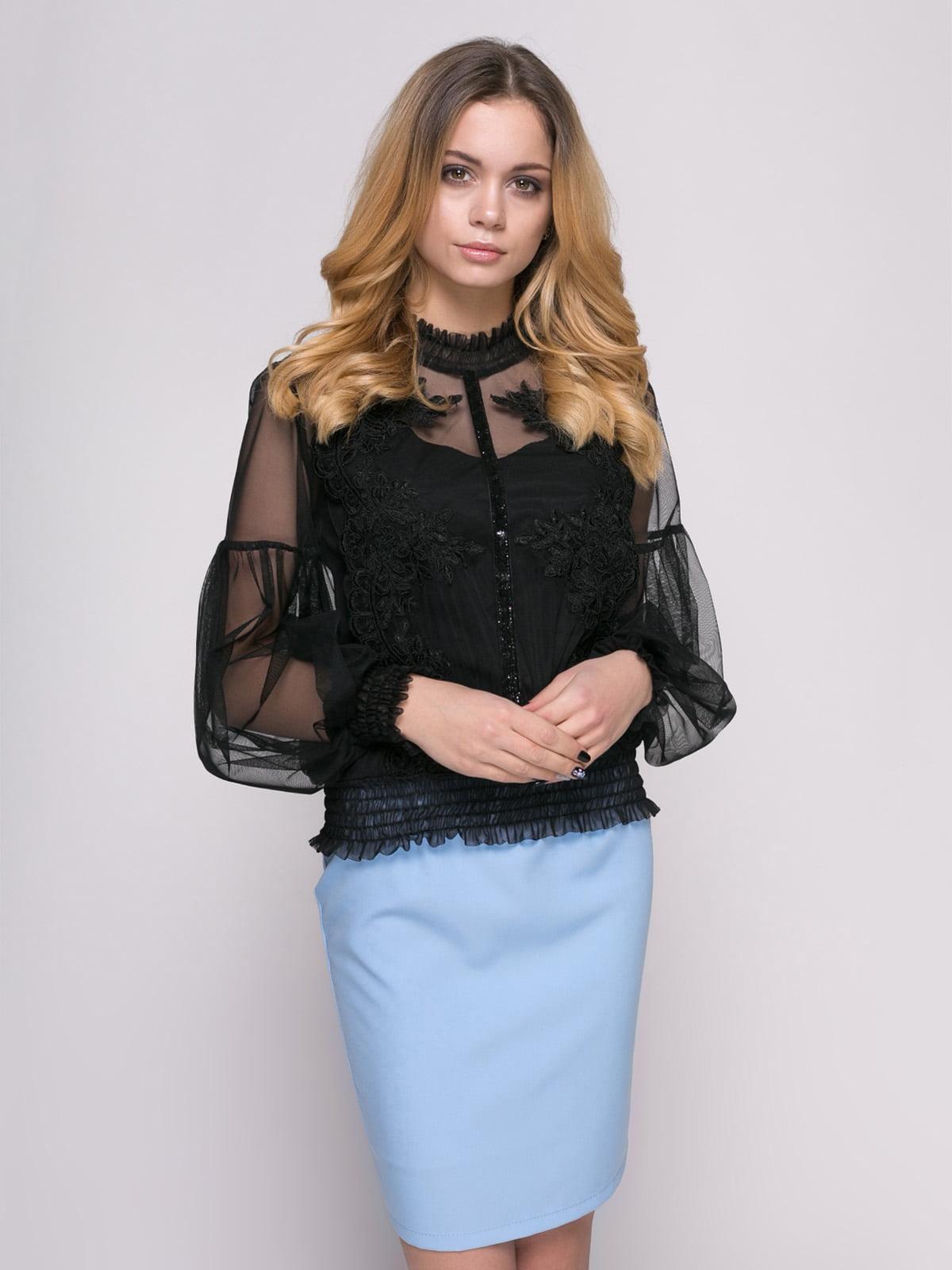 Блуза чорна | 4817193