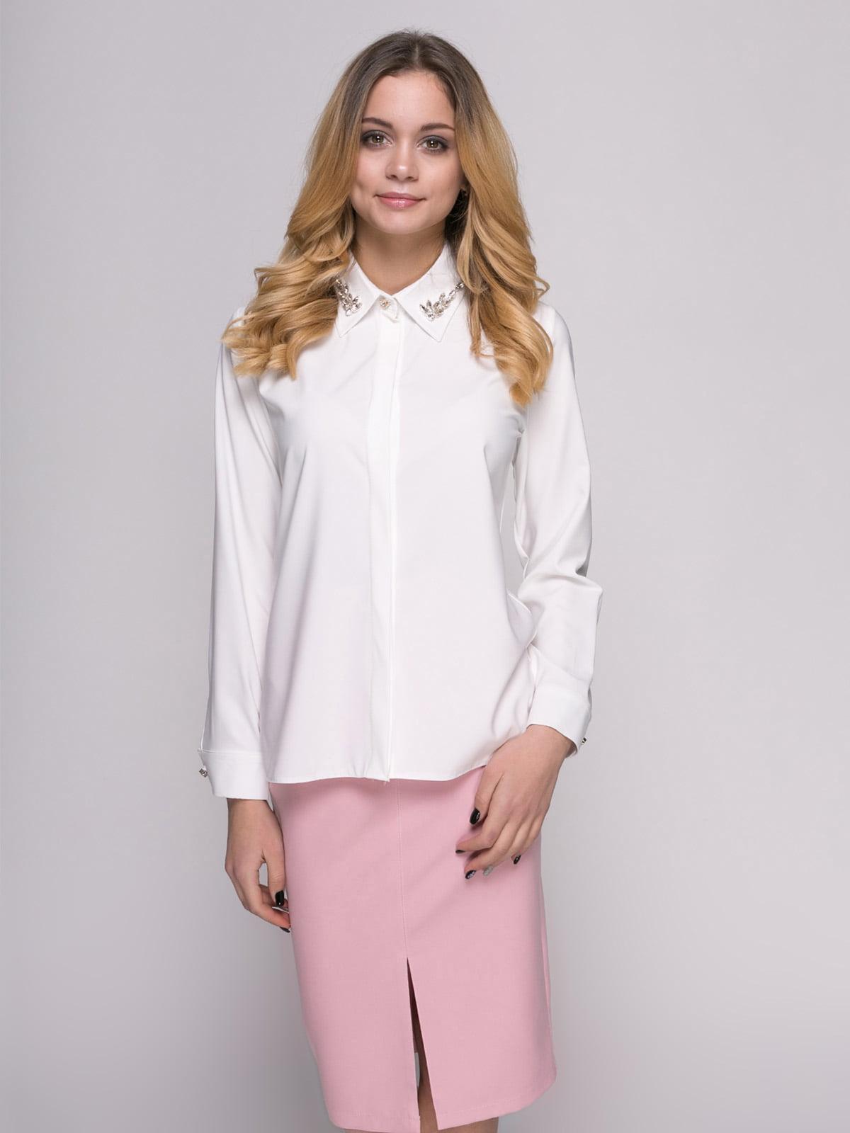 Рубашка молочного цвета | 4817189