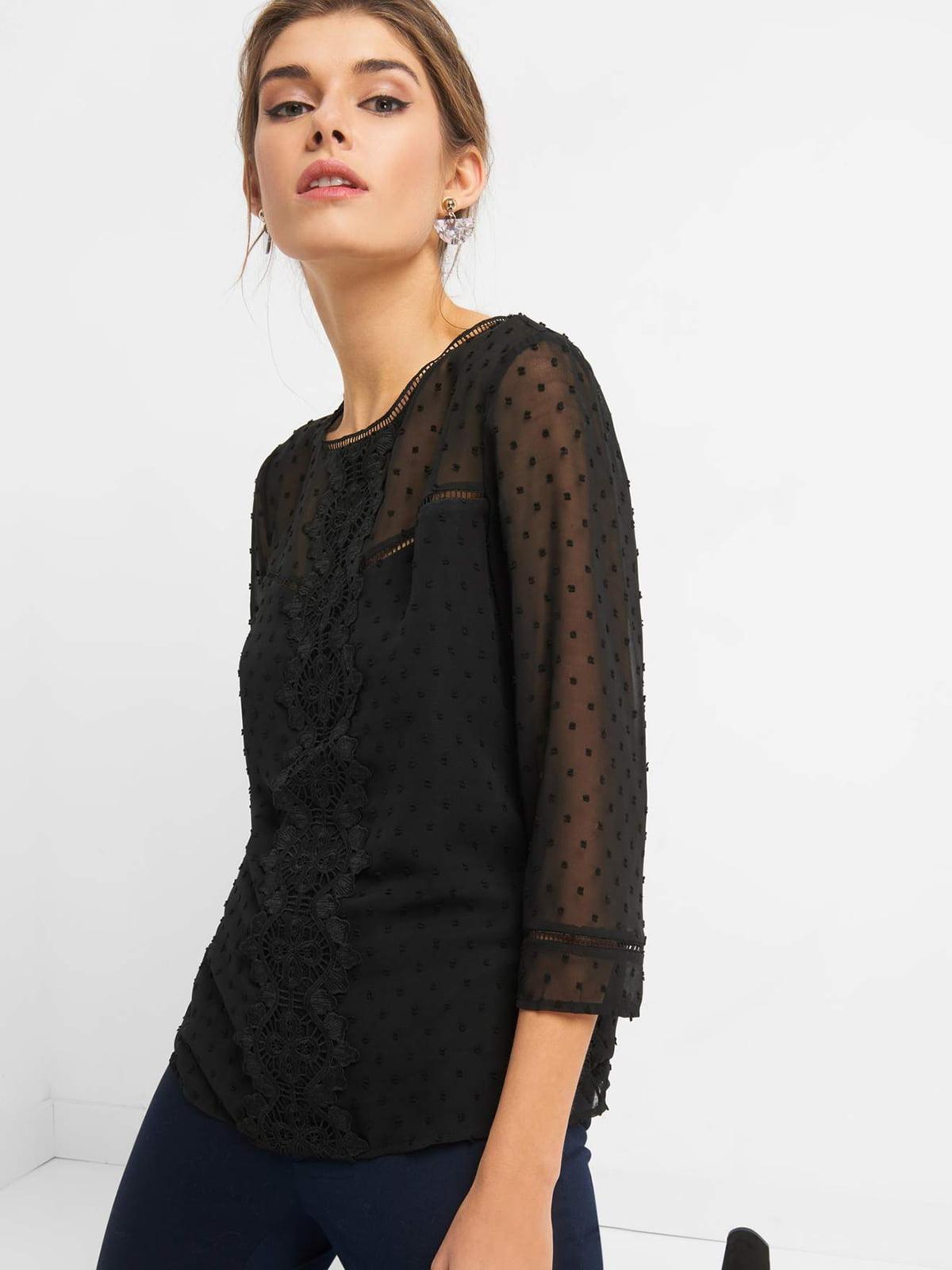 Блуза чорна | 4820536