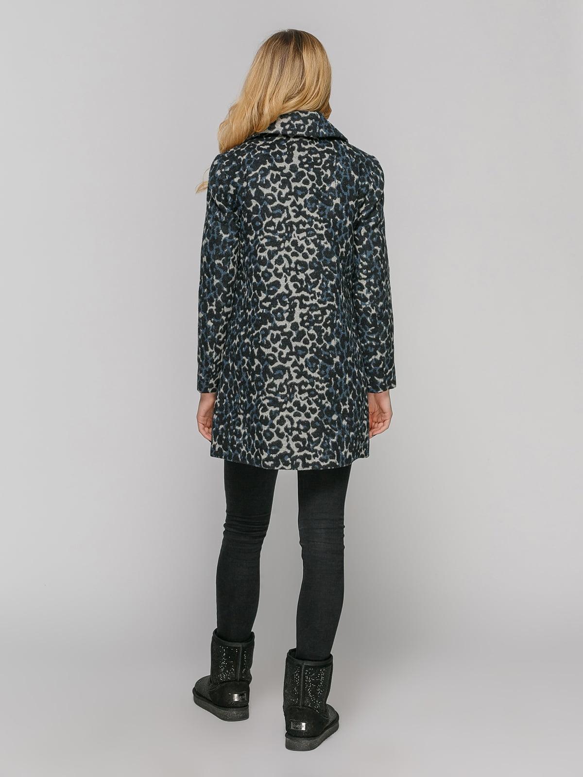 Пальто анималистичной расцветки | 2616215 | фото 3