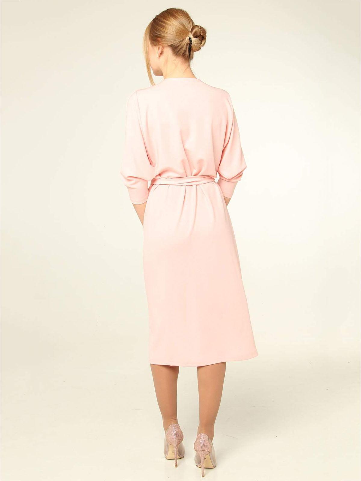 Платье розовое   4821019   фото 2