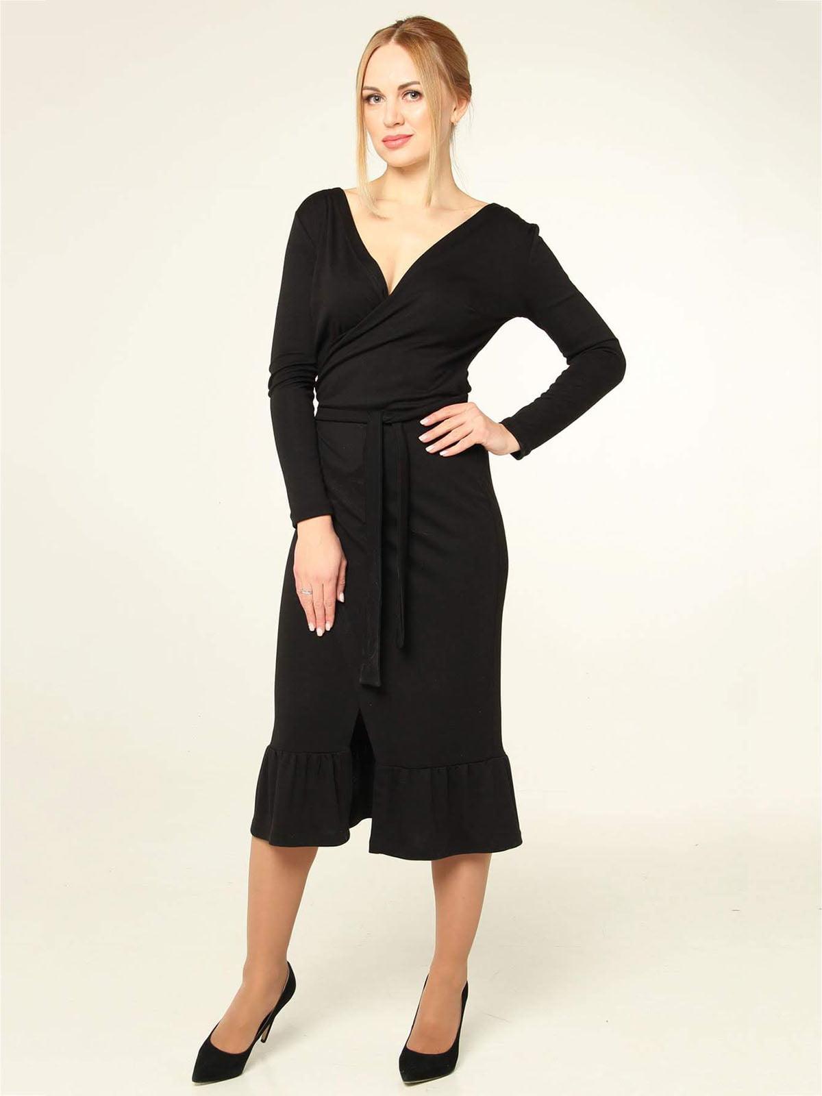 Платье черное | 4821021