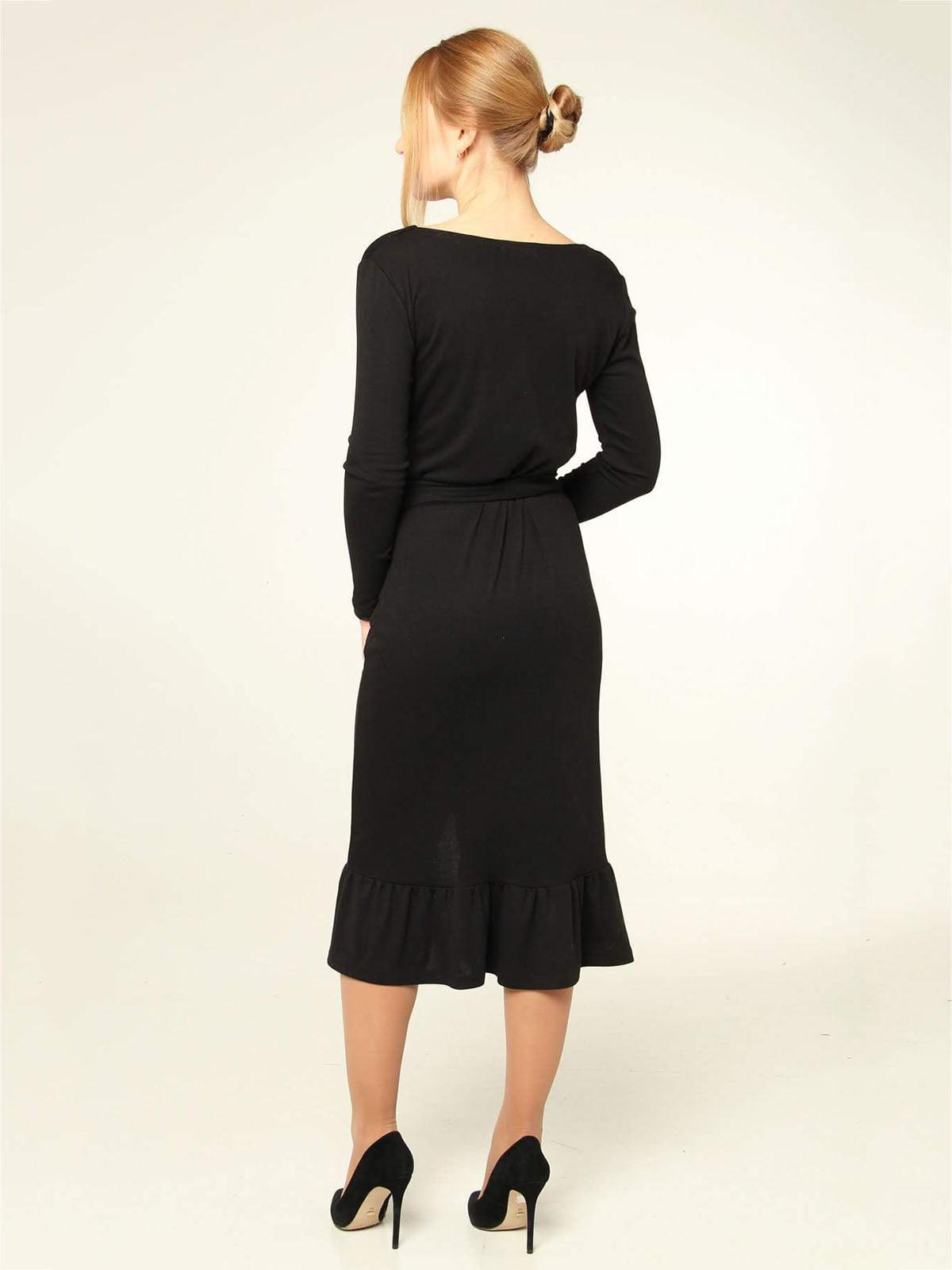 Платье черное | 4821021 | фото 2