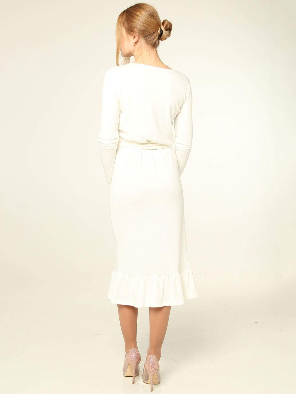 Платье молочного цвета | 4821023 | фото 2