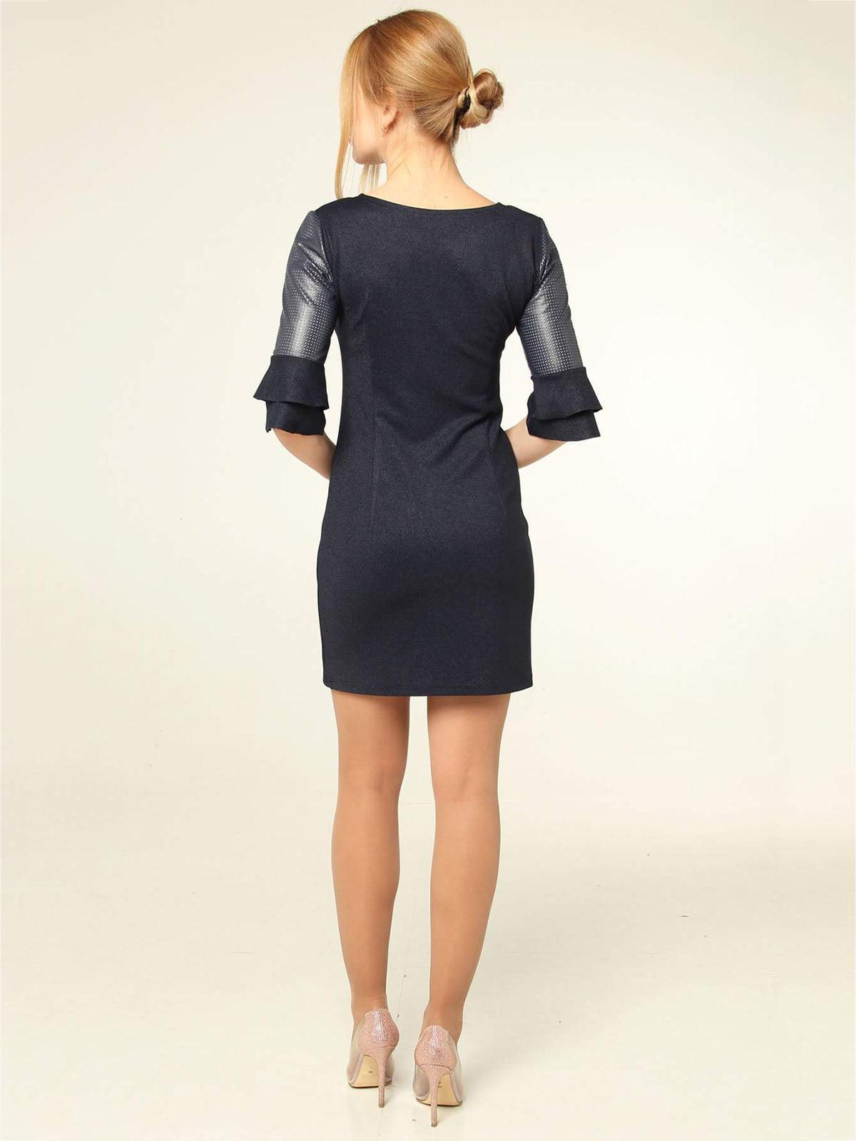 Платье темно-синее | 4821029 | фото 2