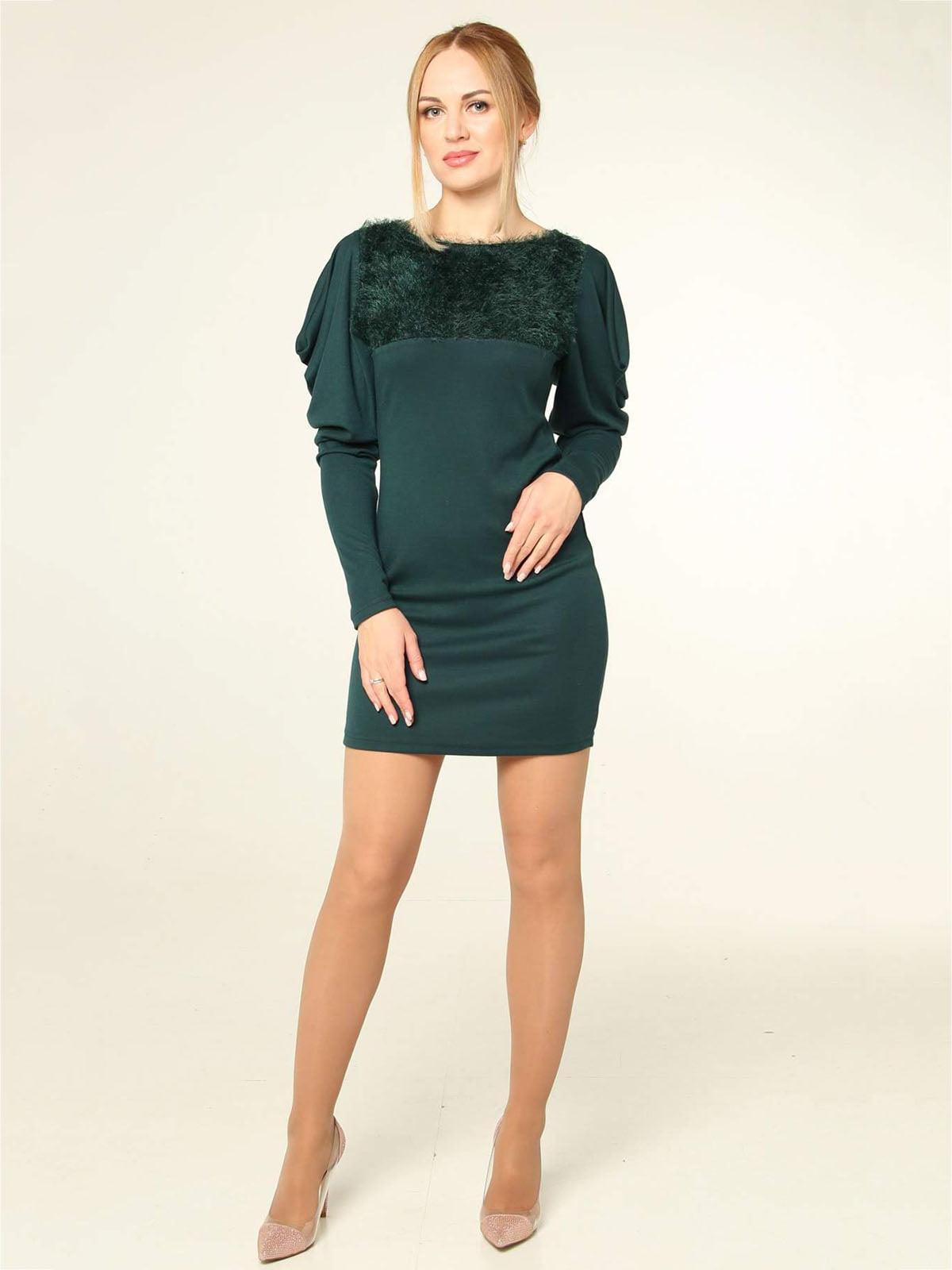 Платье зеленое   4821032