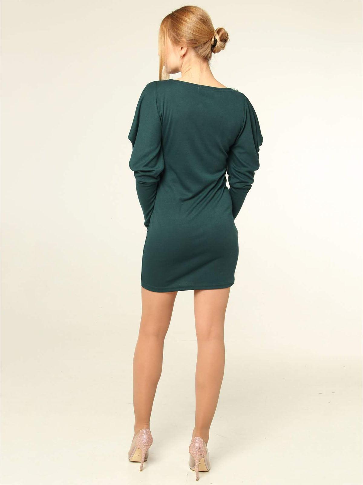Платье зеленое   4821032   фото 2