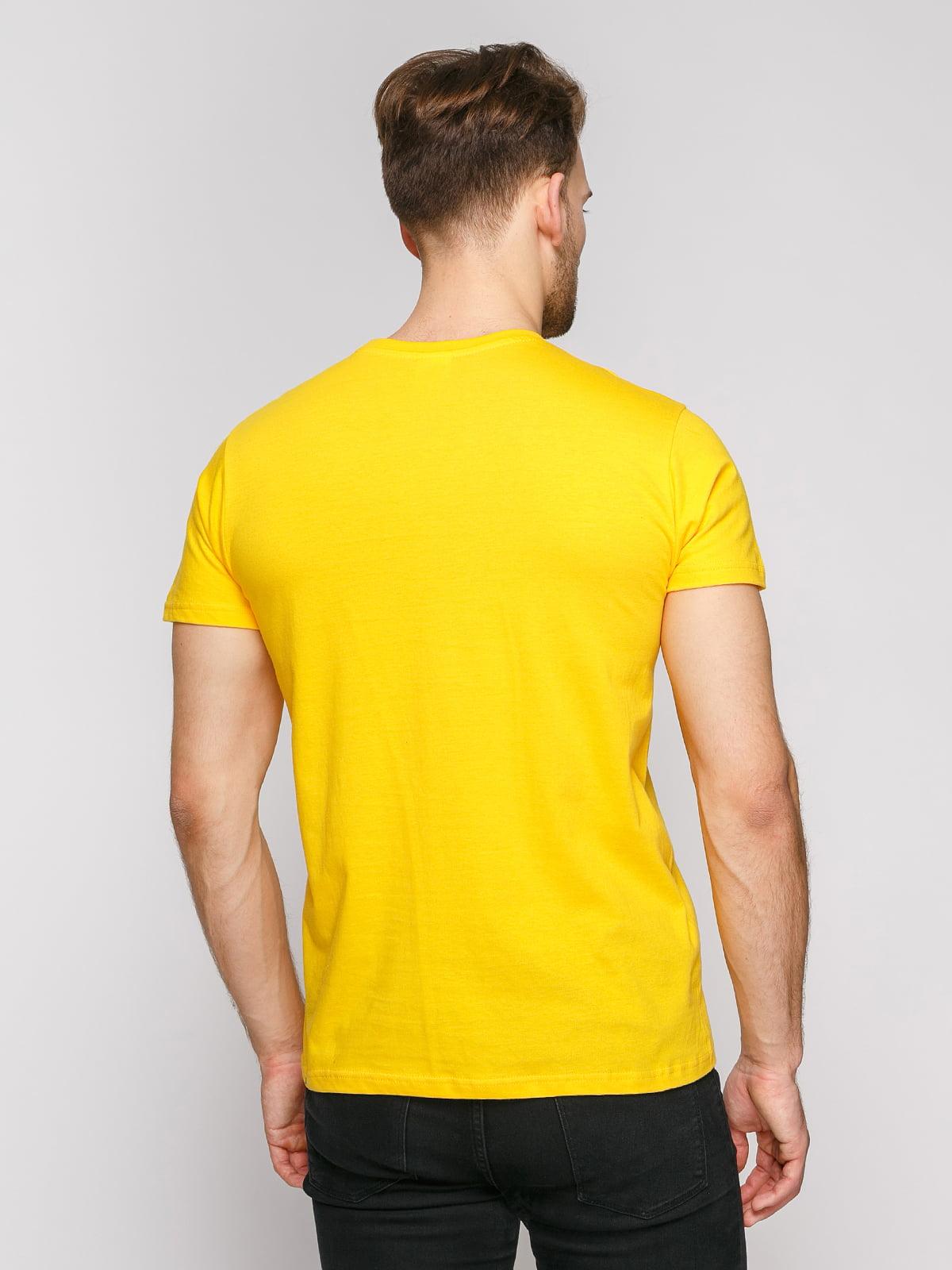 Футболка желтая | 4812179 | фото 2