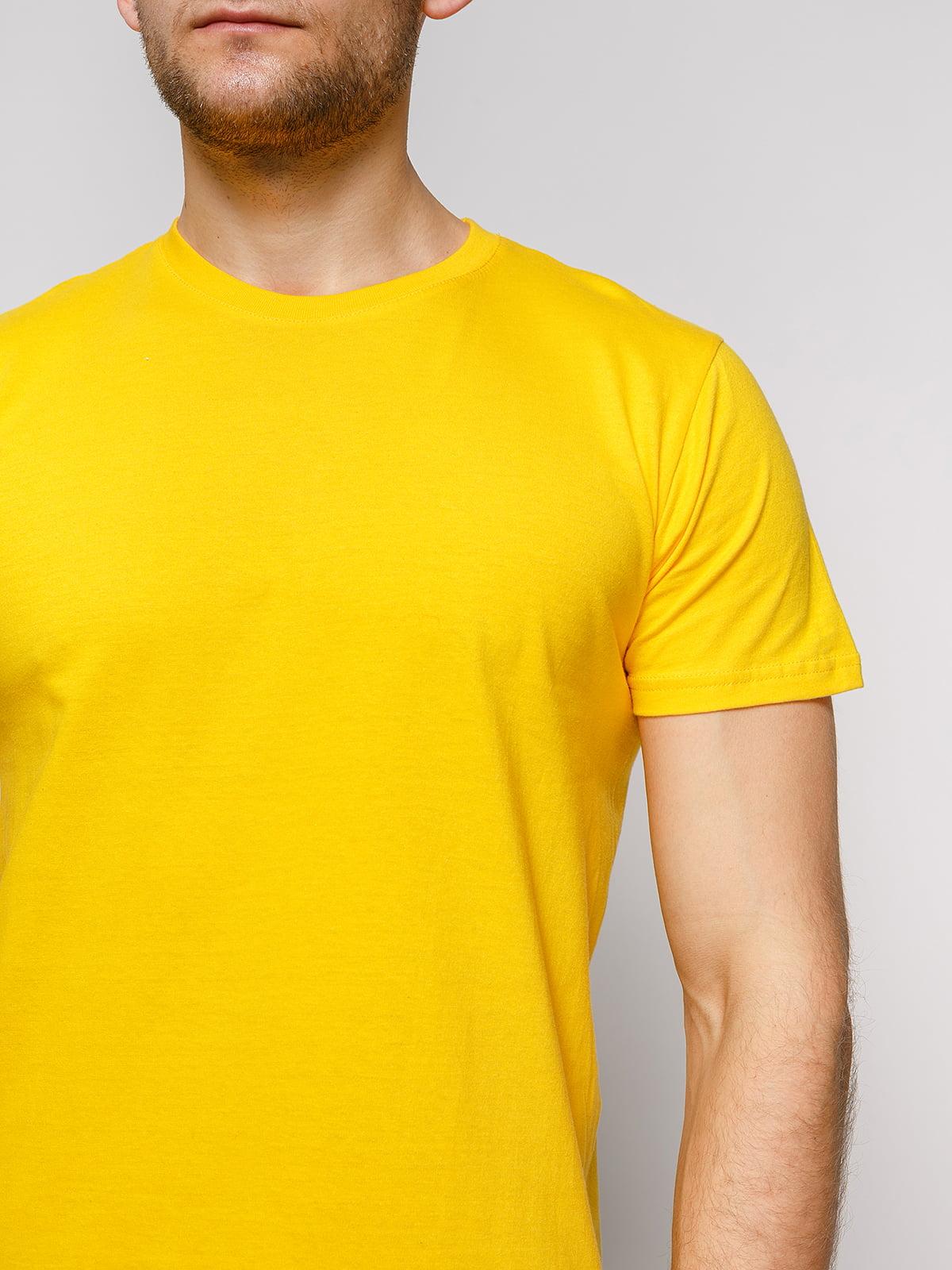 Футболка желтая | 4812179 | фото 3