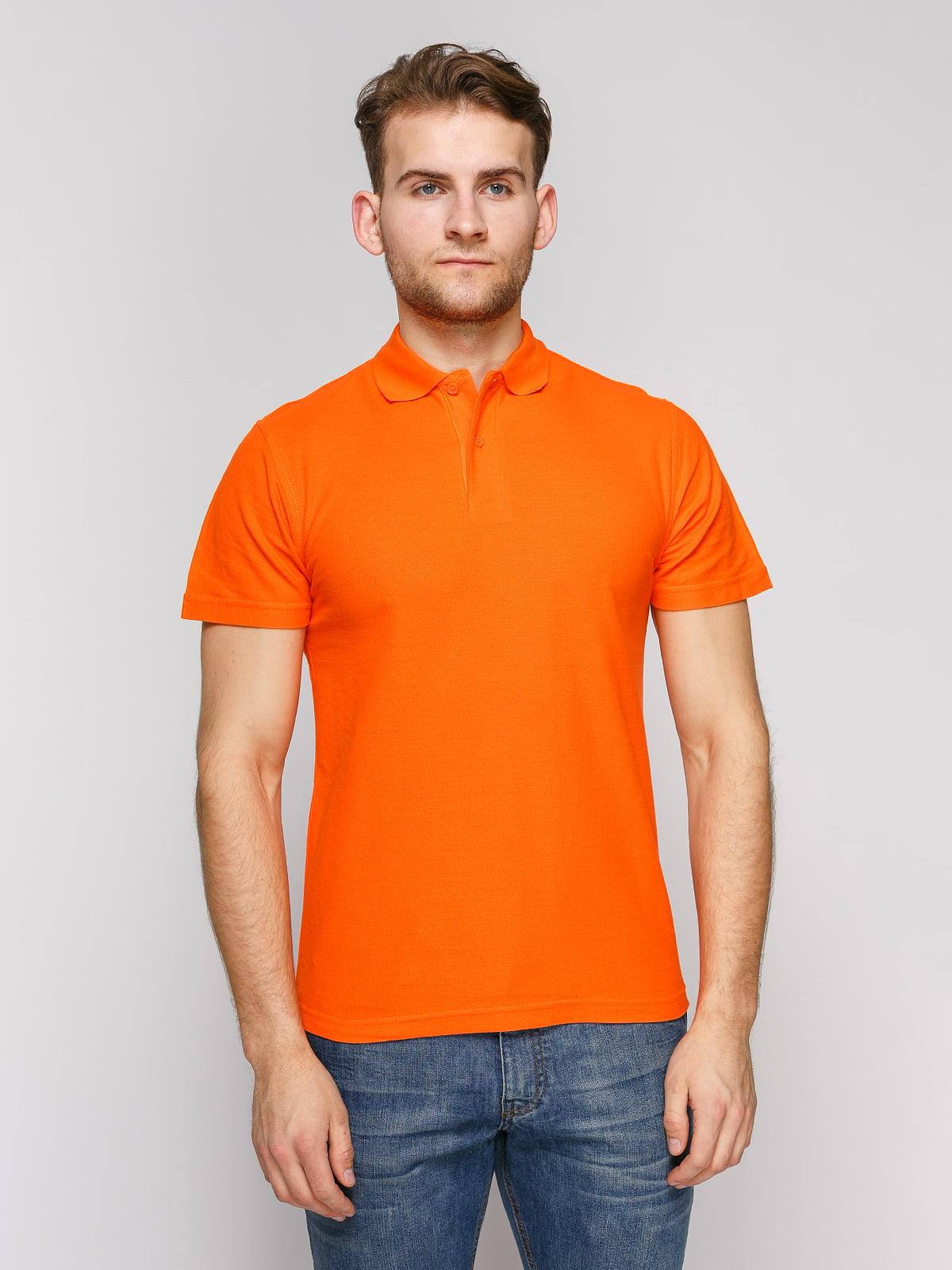 Футболка-поло оранжевая | 4812200