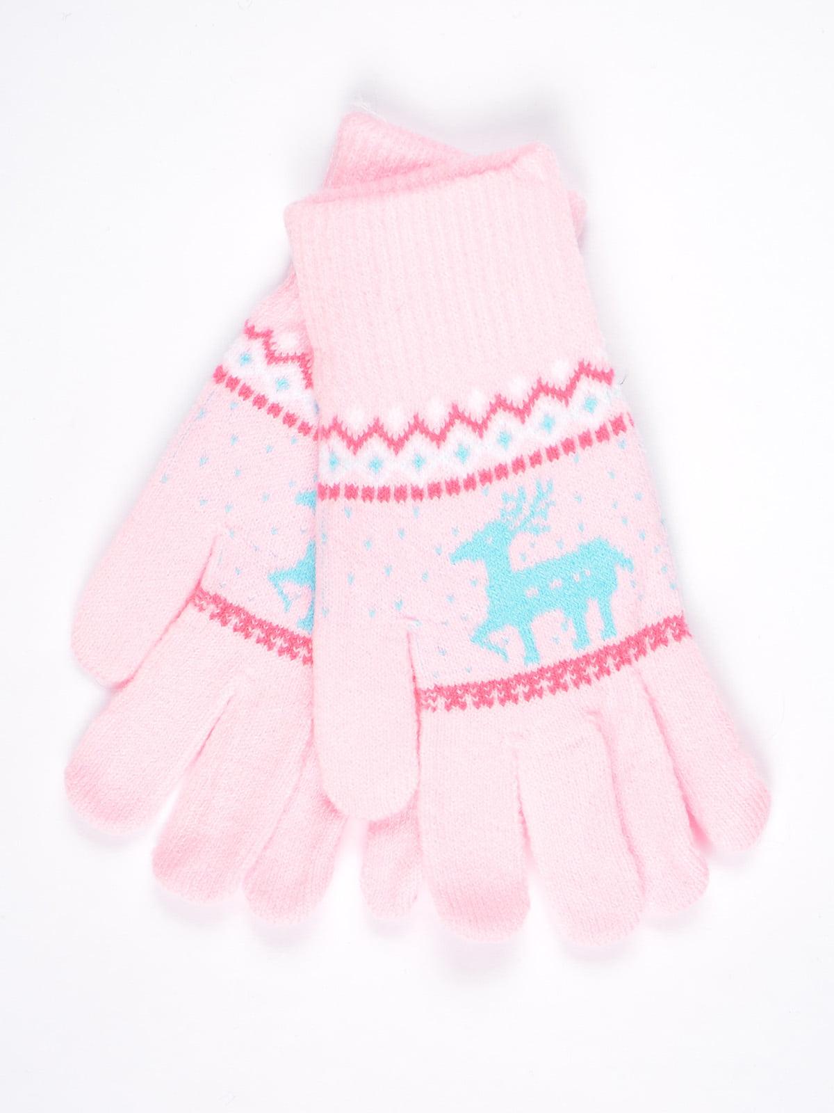 Рукавички рожеві   4821710
