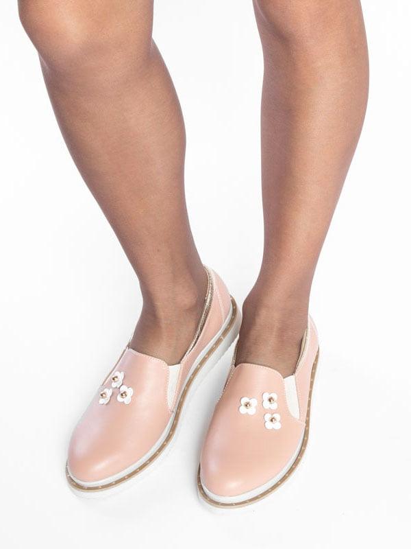 Туфли цвета пудры | 4822494 | фото 4