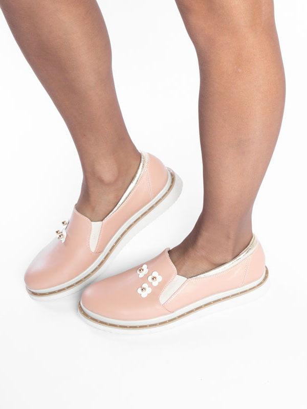Туфли цвета пудры | 4822494 | фото 5
