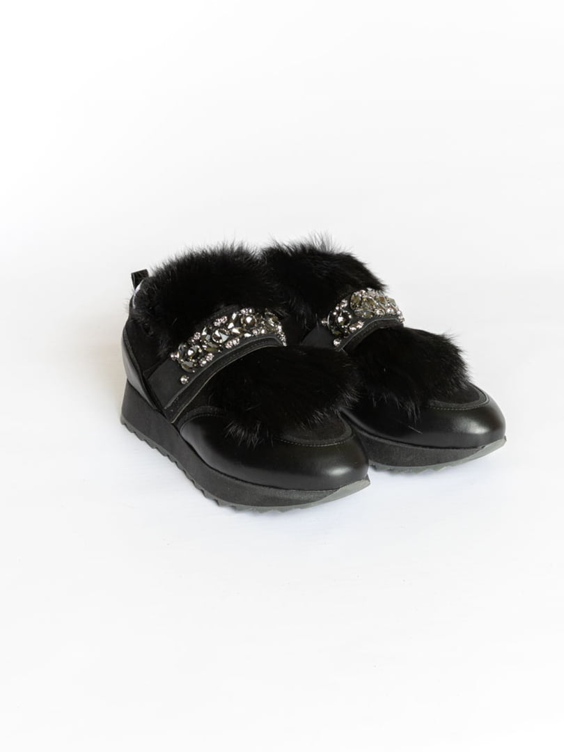 Ботинки черные | 4822496