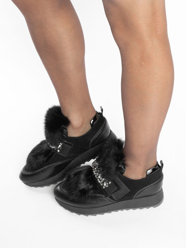 Ботинки черные | 4822496 | фото 4