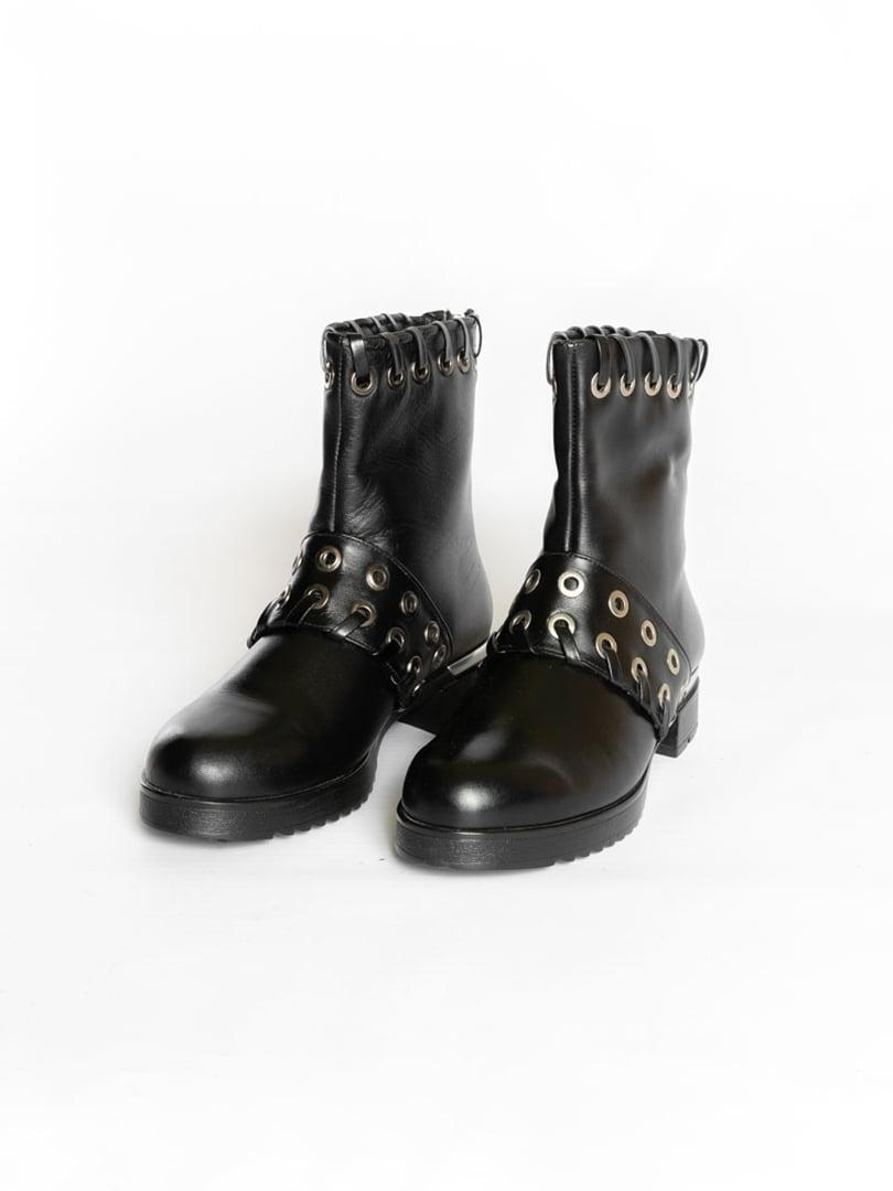 Ботинки черные   4822507