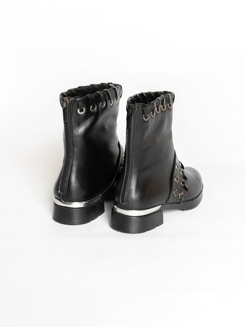 Ботинки черные   4822507   фото 2