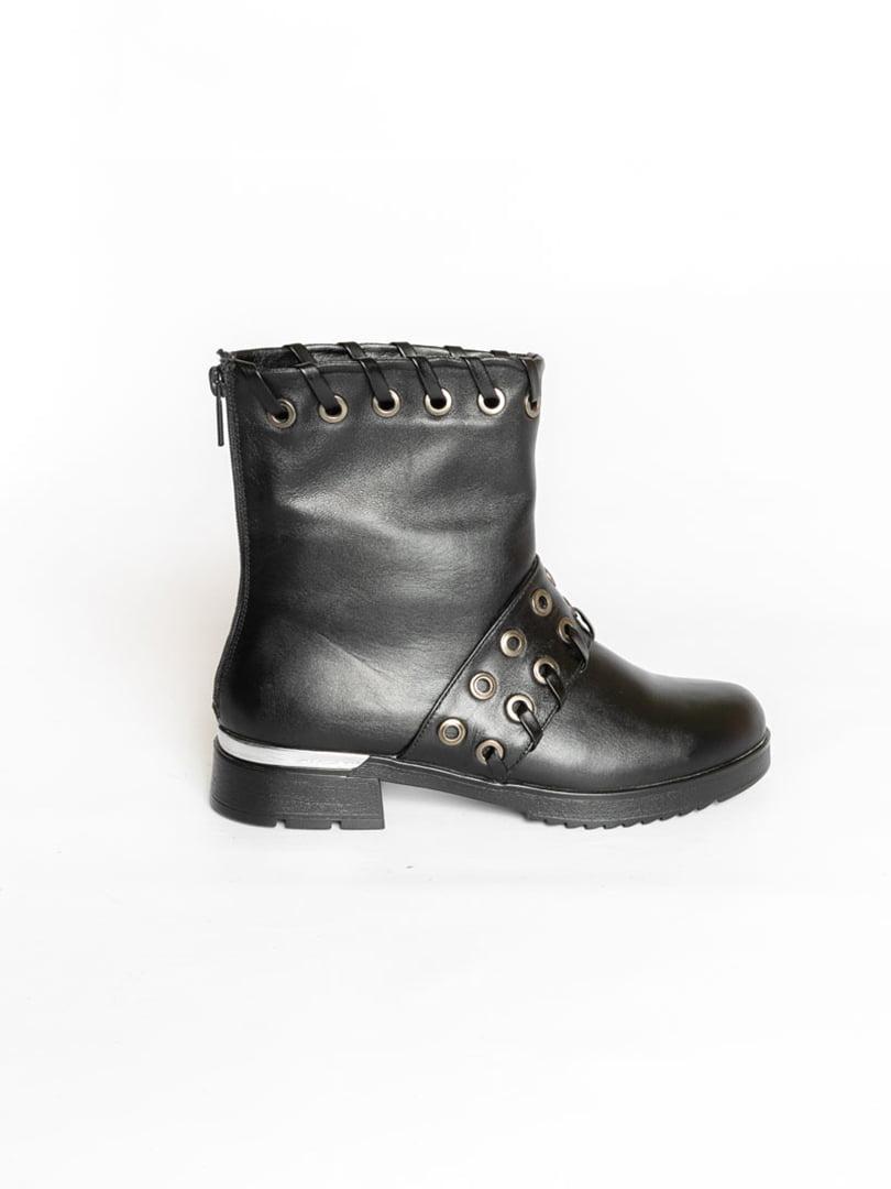 Ботинки черные   4822507   фото 3