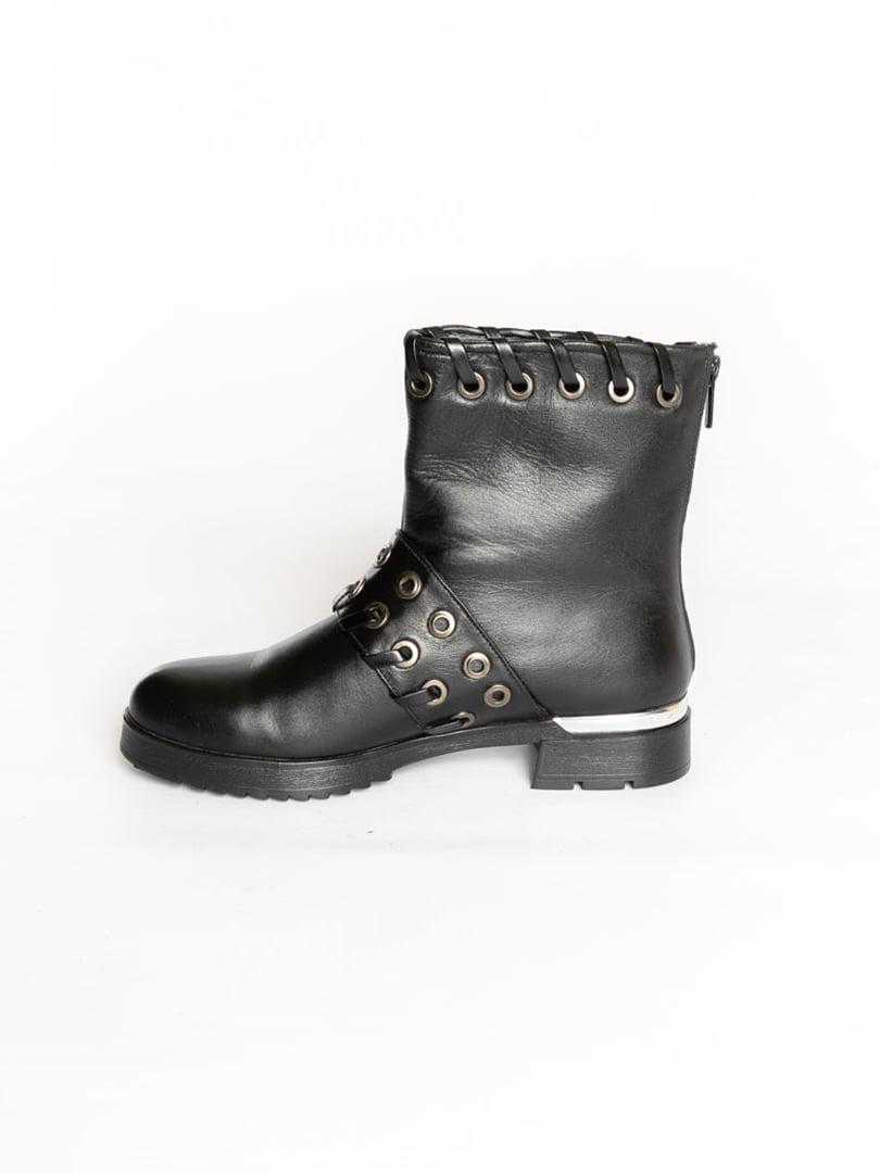Ботинки черные   4822507   фото 4