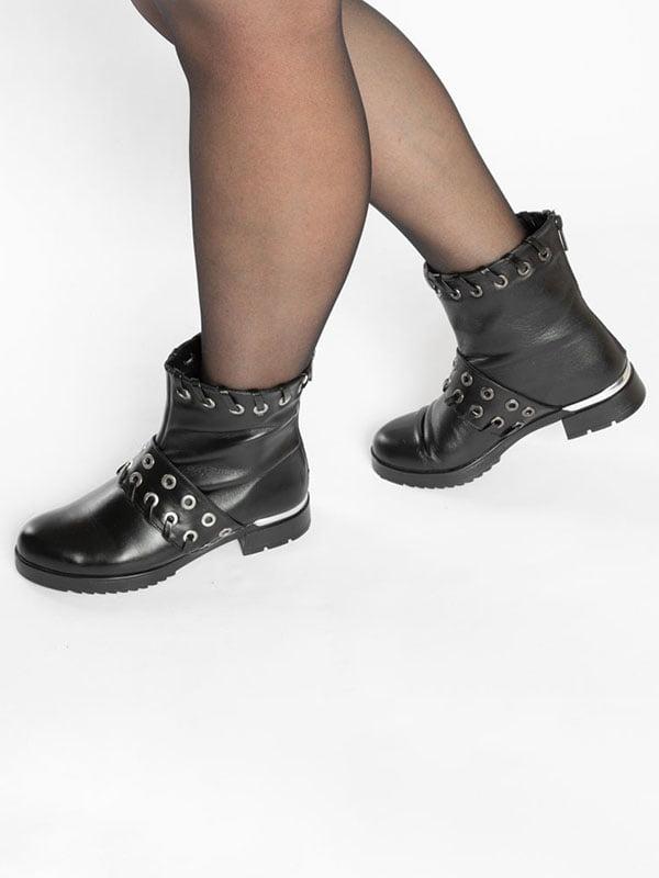 Ботинки черные   4822507   фото 6