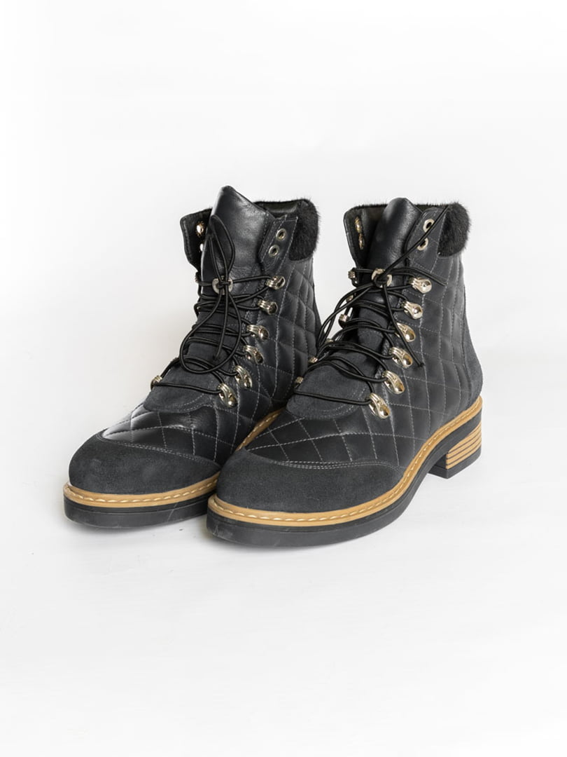 Ботинки темно-синие | 4822508